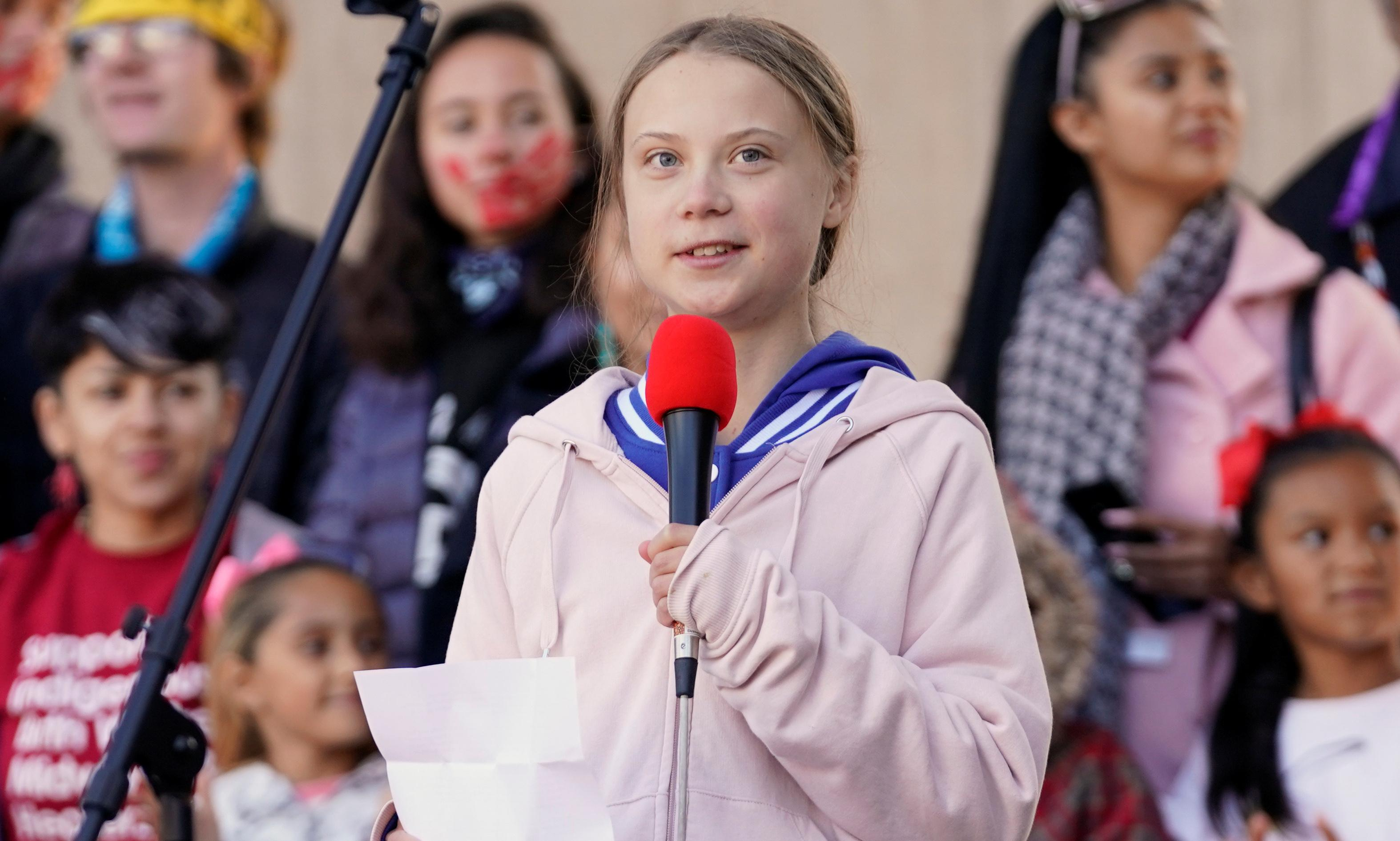 'If they don't do it, we will': Greta Thunberg rallies climate strikers for long haul