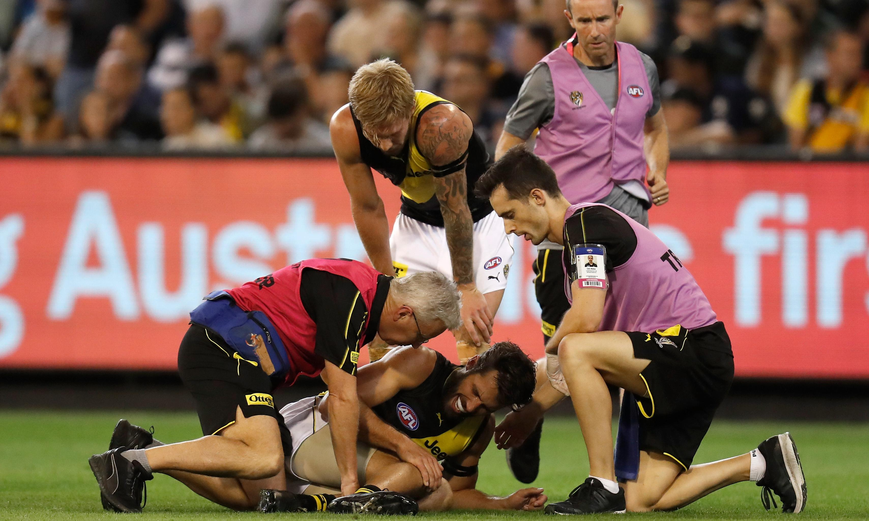 Richmond's charmed life ends with Alex Rance to have knee reconstruction