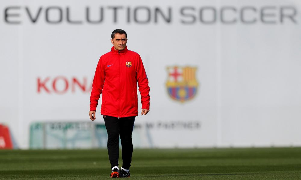 Ernesto Valverde has revived Barcelona by putting an extra man in midfield and making them harder to break down.