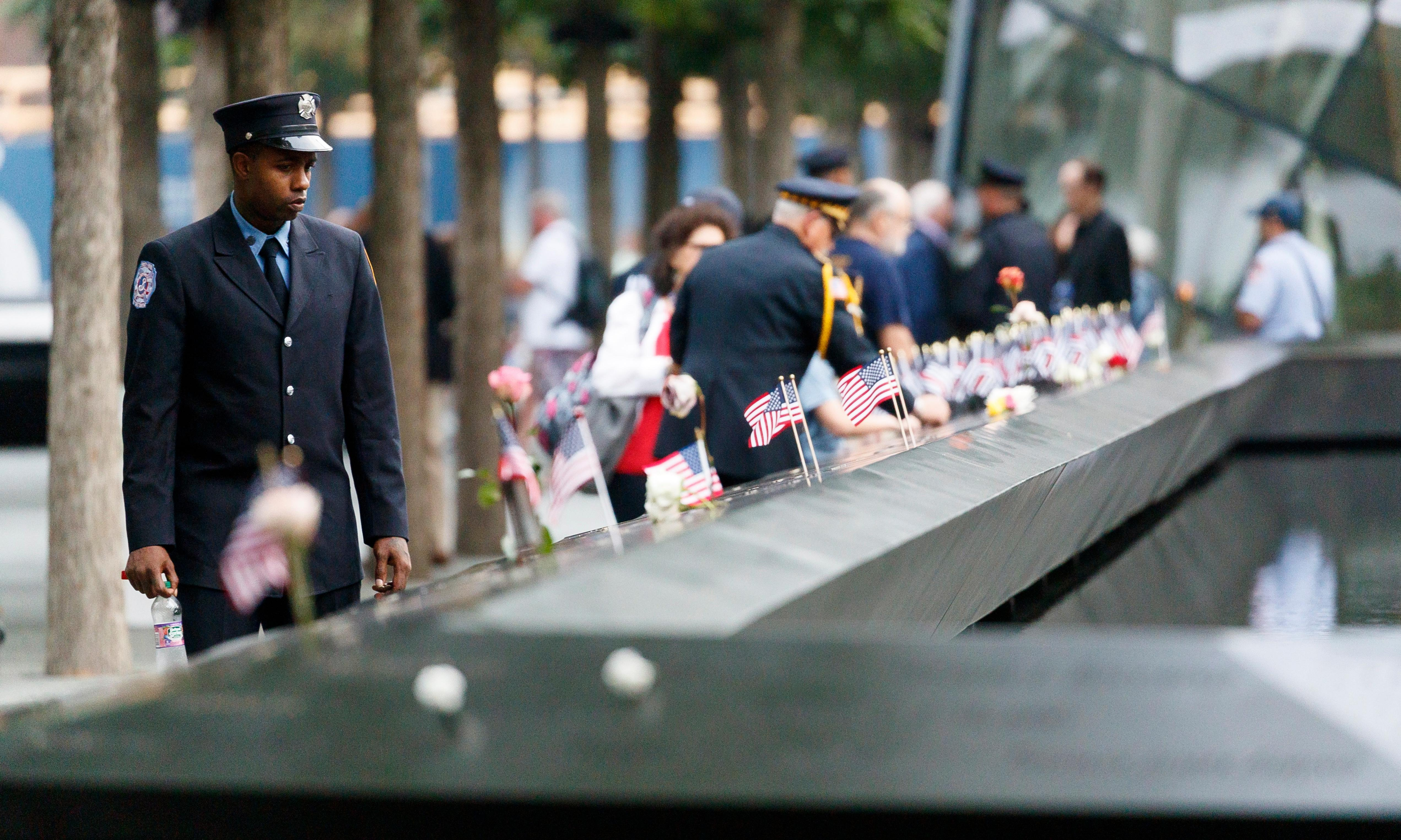 New York firefighters recall 9/11 victims in wake of cancelled Taliban talks