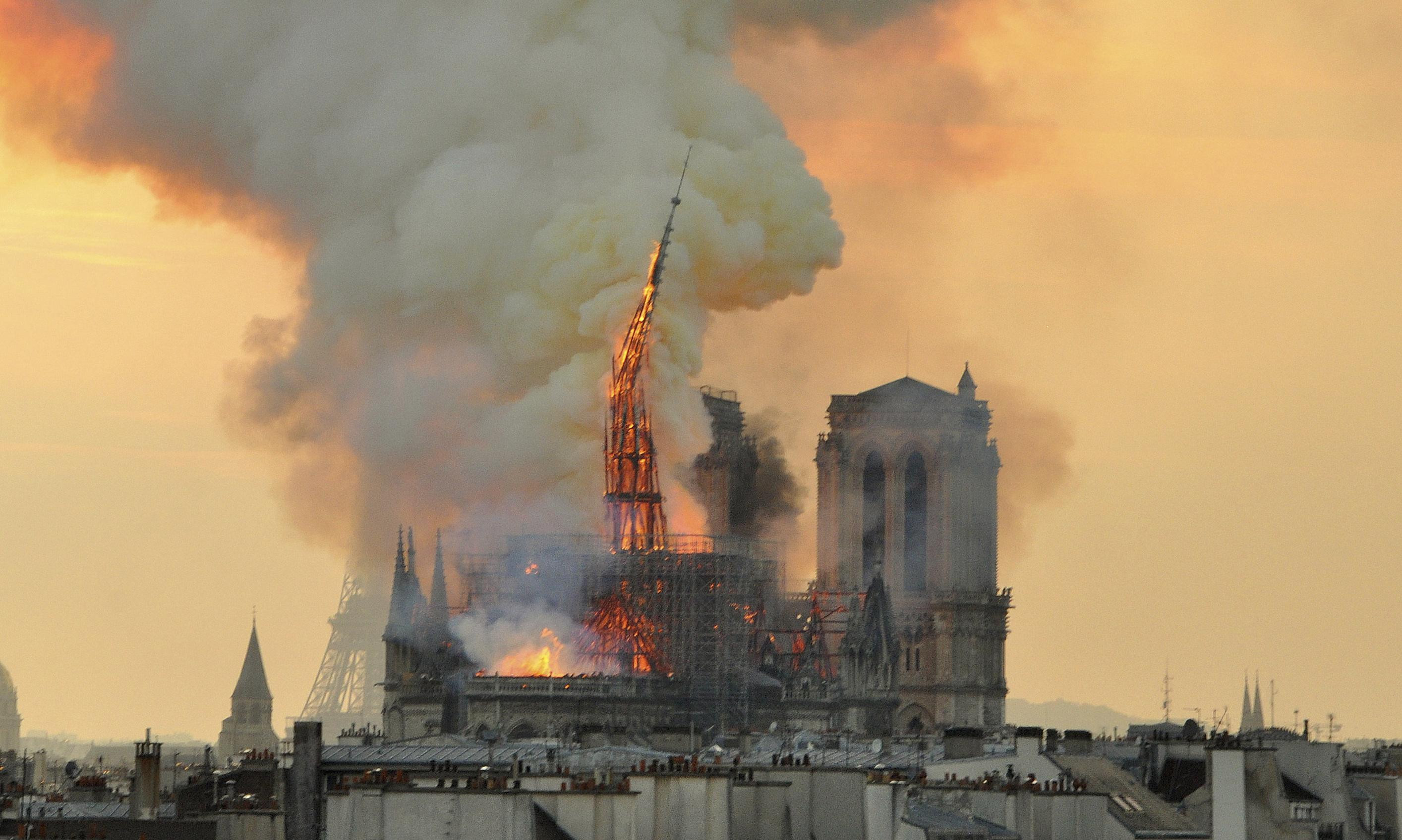France announces contest to redesign Notre Dame spire