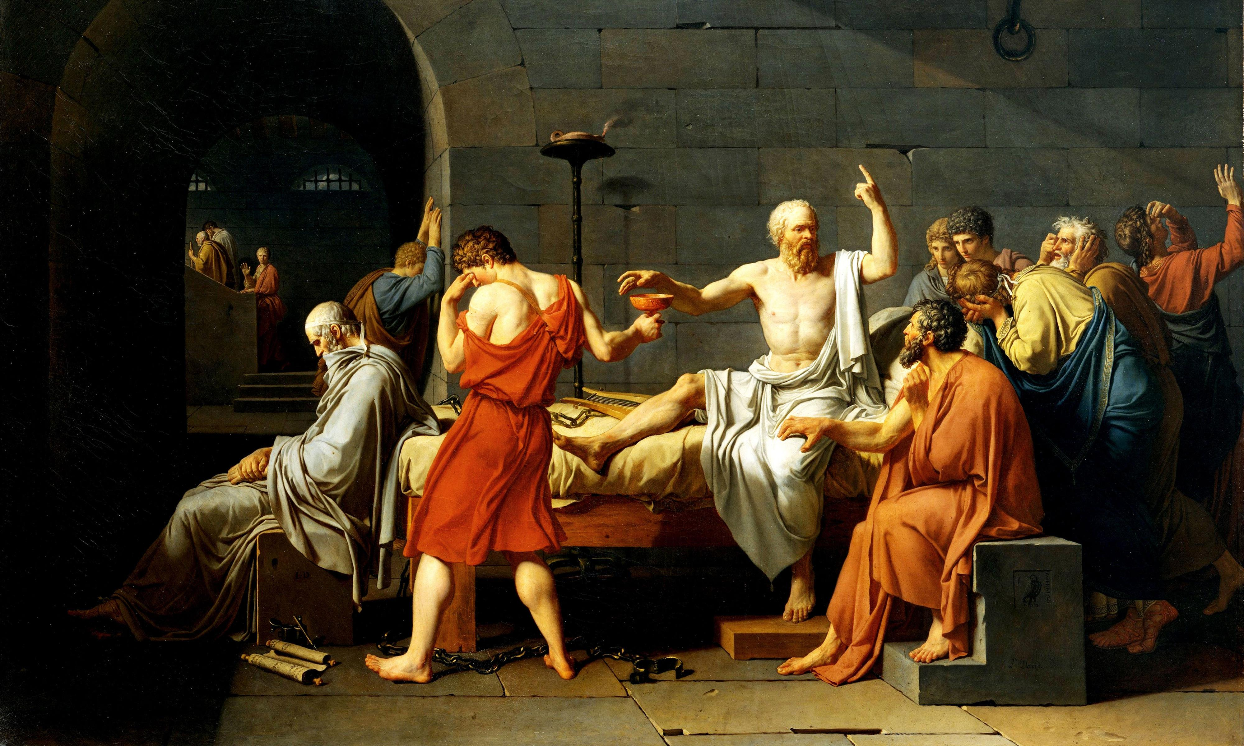 Socrates in Love by Armand D'Angour review – the making of a philosopher