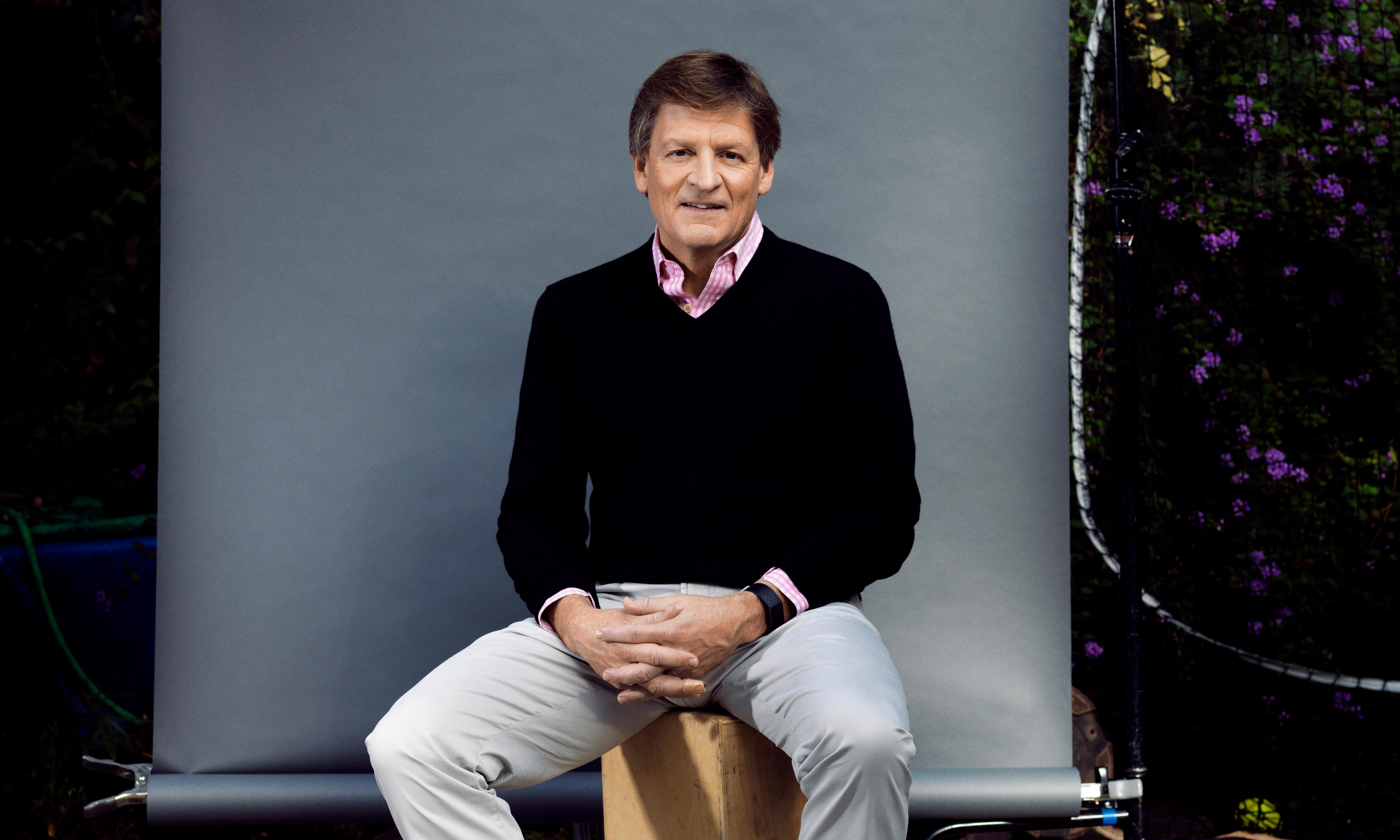 Michael Lewis: 'Don't bet against the US. It has an incredible capacity for self-reinvention'