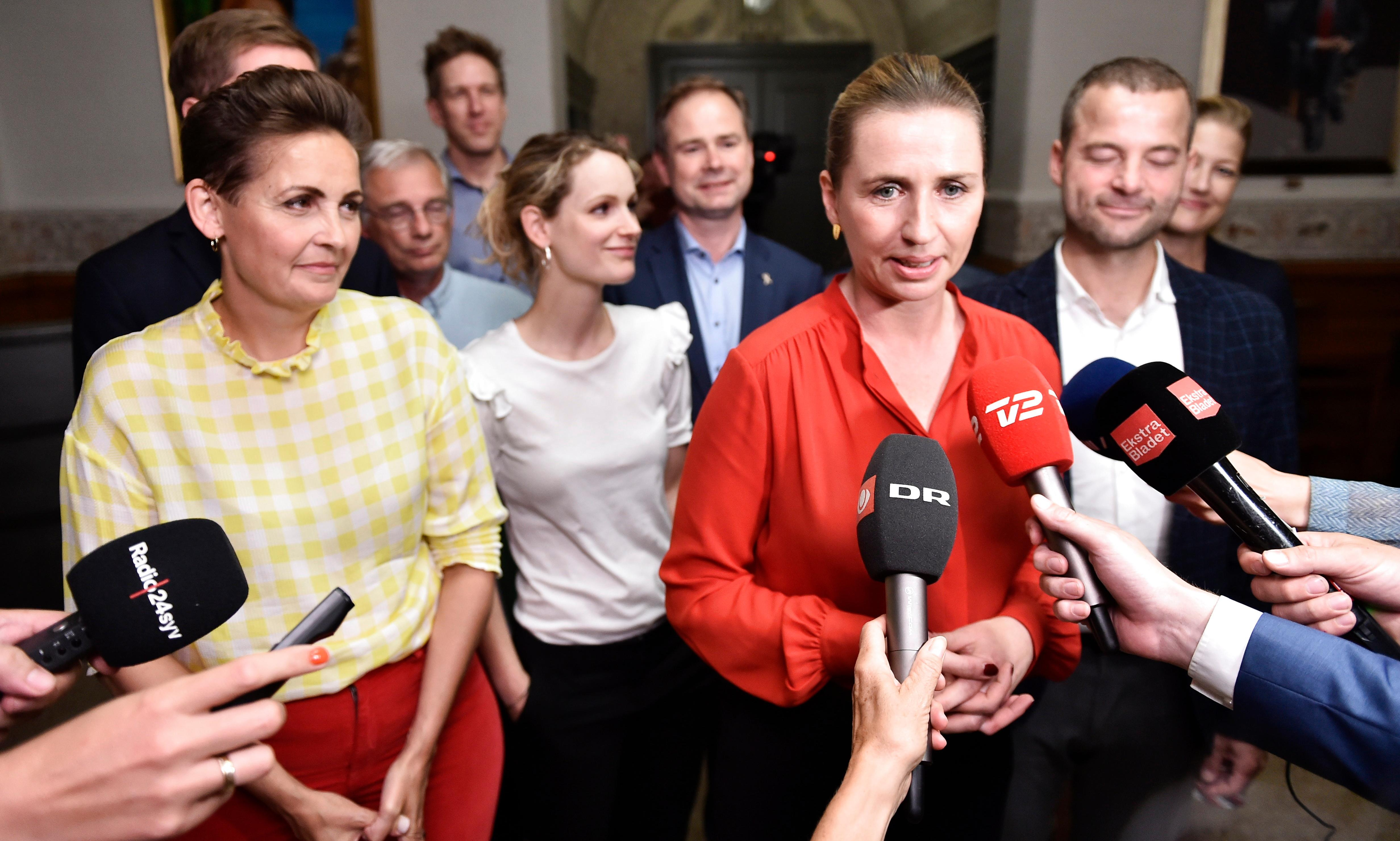 Denmark's youngest prime minister leads new leftist government