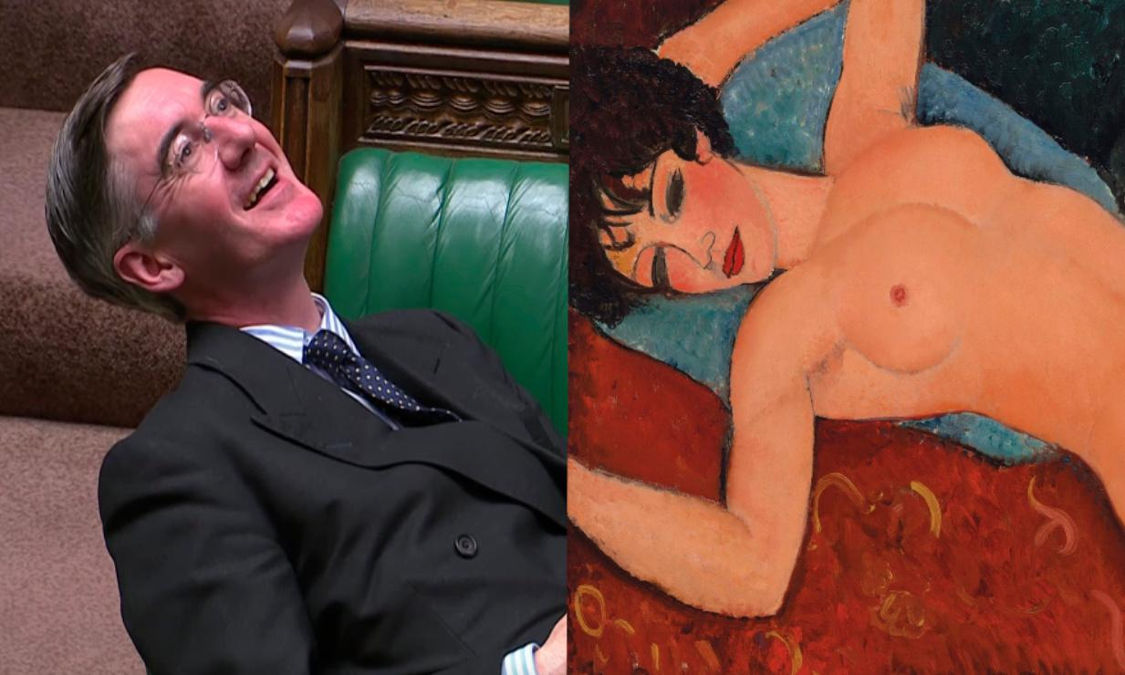 Jacob Rees-Mogg's slouch: how it compares to art's great recliners