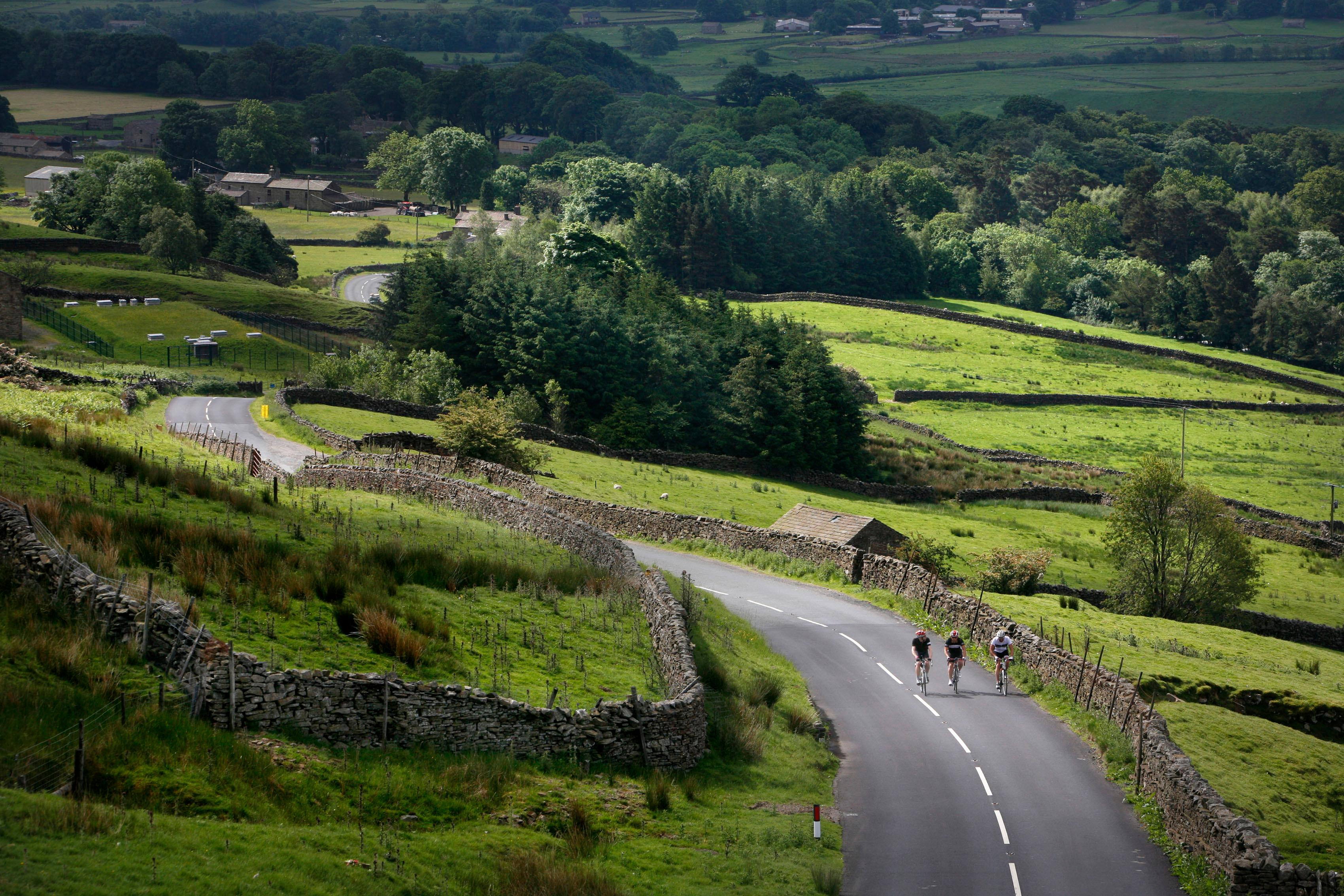 Tykes and bikes: cycling Yorkshire's World Championship route