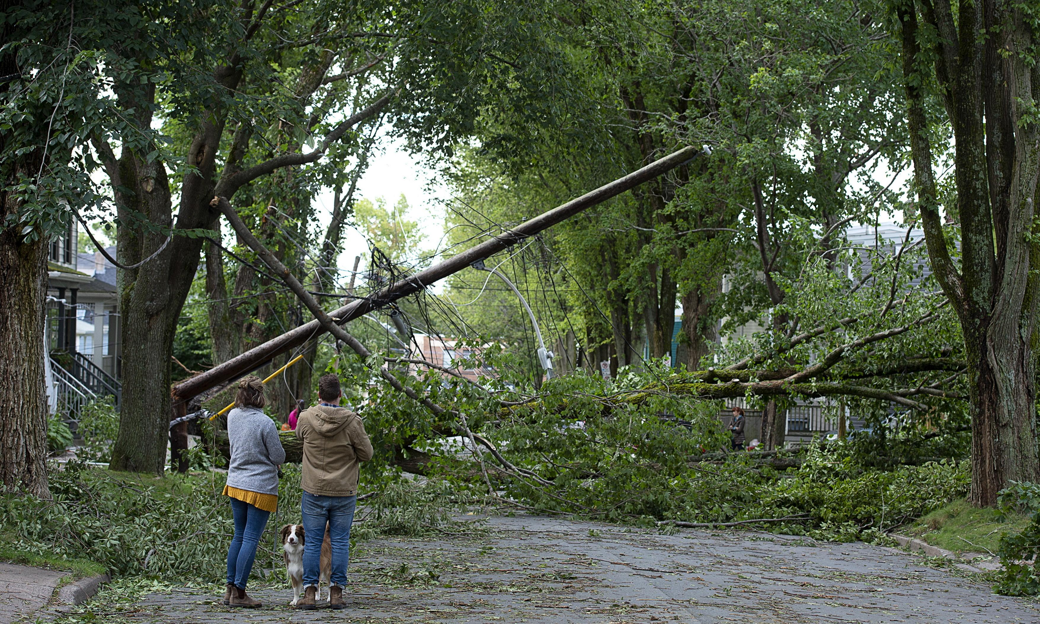 Canada: Hurricane Dorian's sting in the tail leaves 500,000 without power