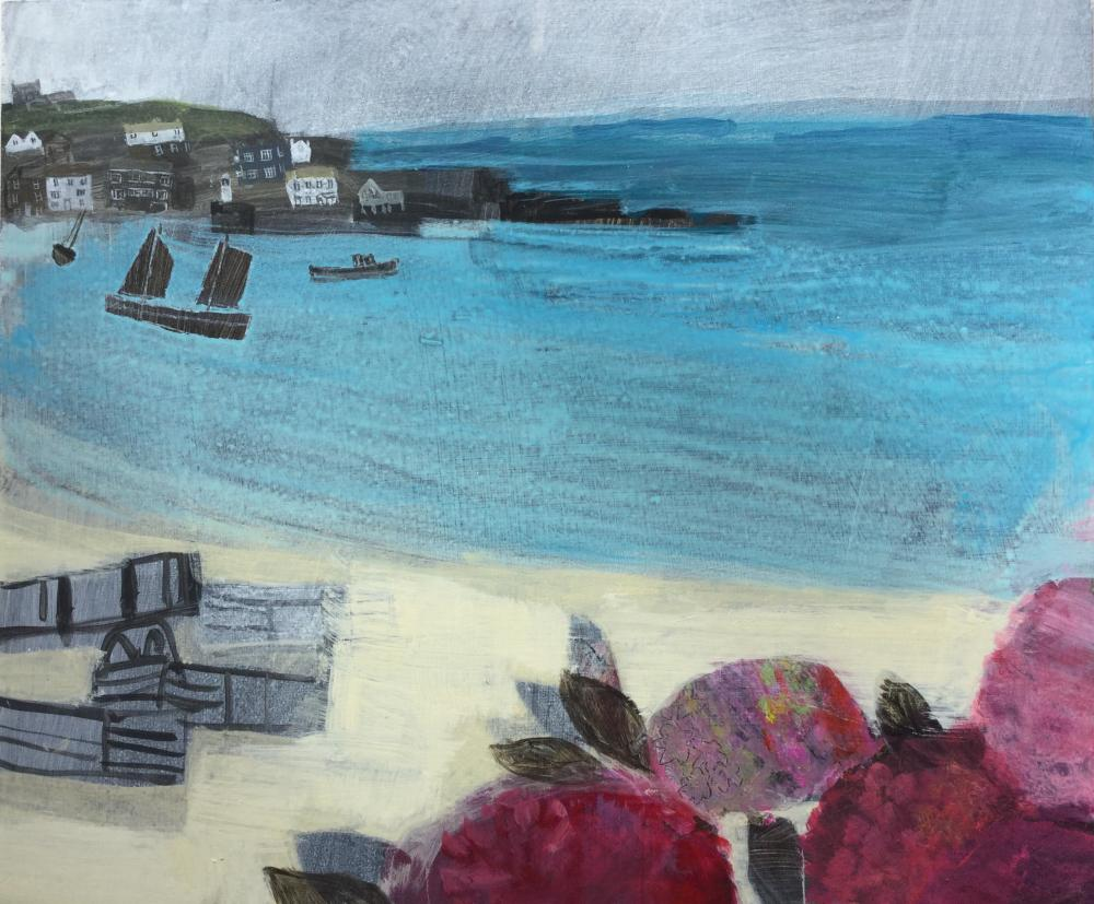 Emma Jeffryes' paintings of St Ives