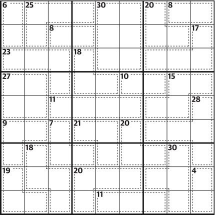 Killer sudoku 650