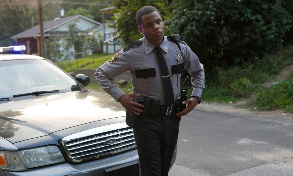 Tristan Mack Wilds as Deputy Joshua Beck in Shots Fired