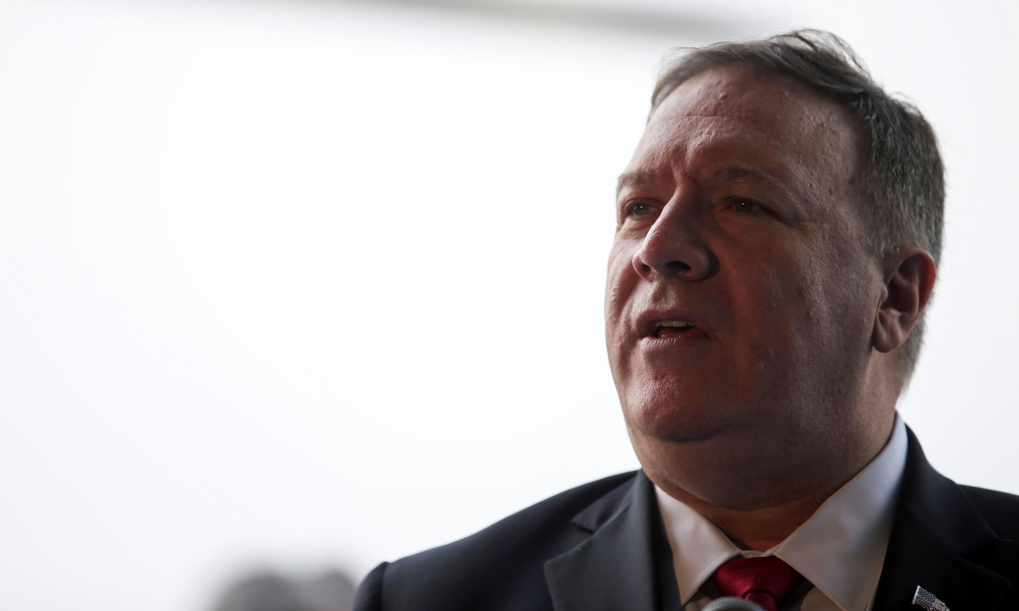 Pompeo says NPR reporter is part of 'unhinged' US media conspiracy