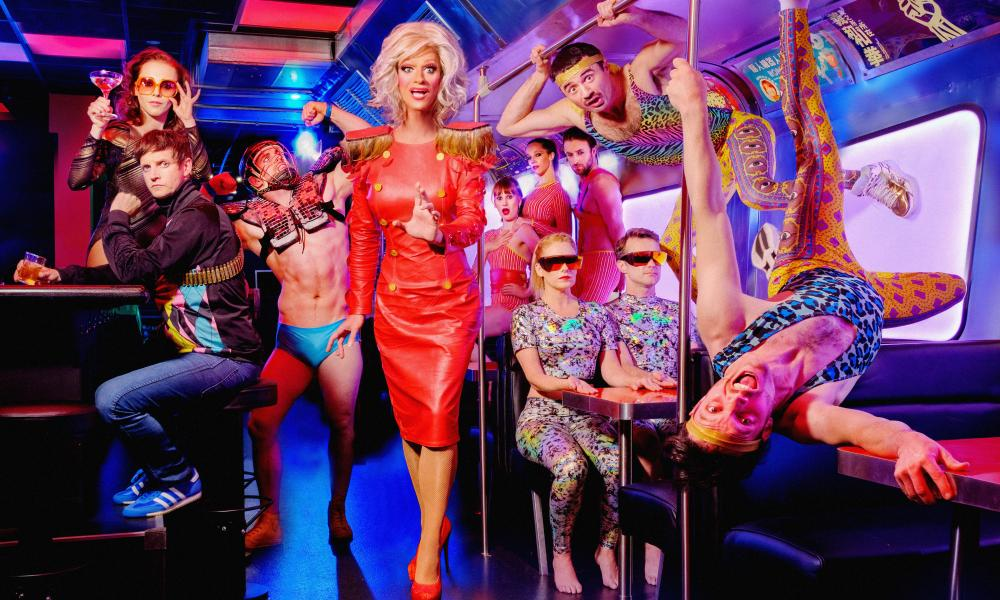 Irish drag star and activist Rory O'Neill as Panti Bliss, the star of Riot