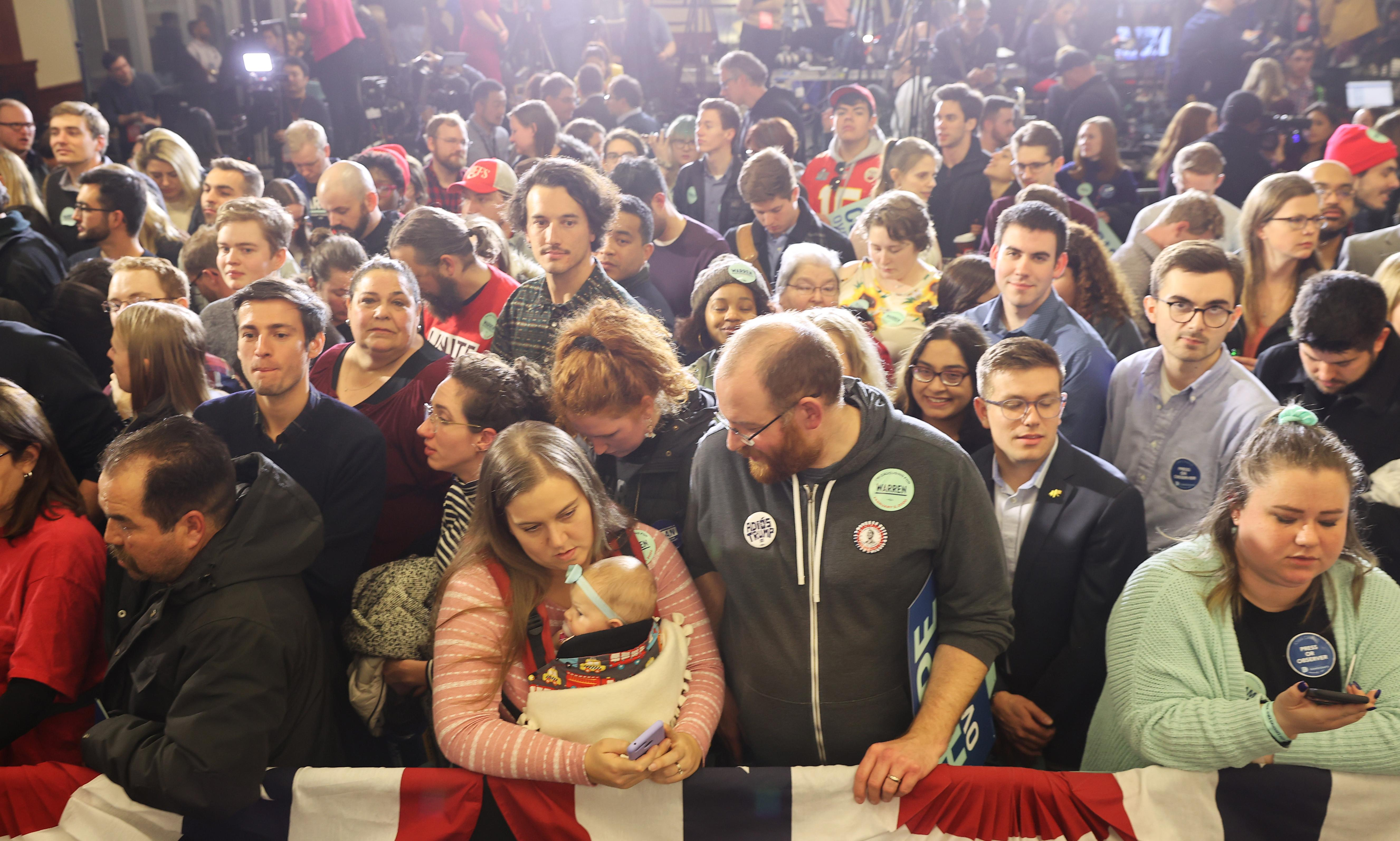 'Iowa, you have shocked the nation': social media reacts to caucus chaos