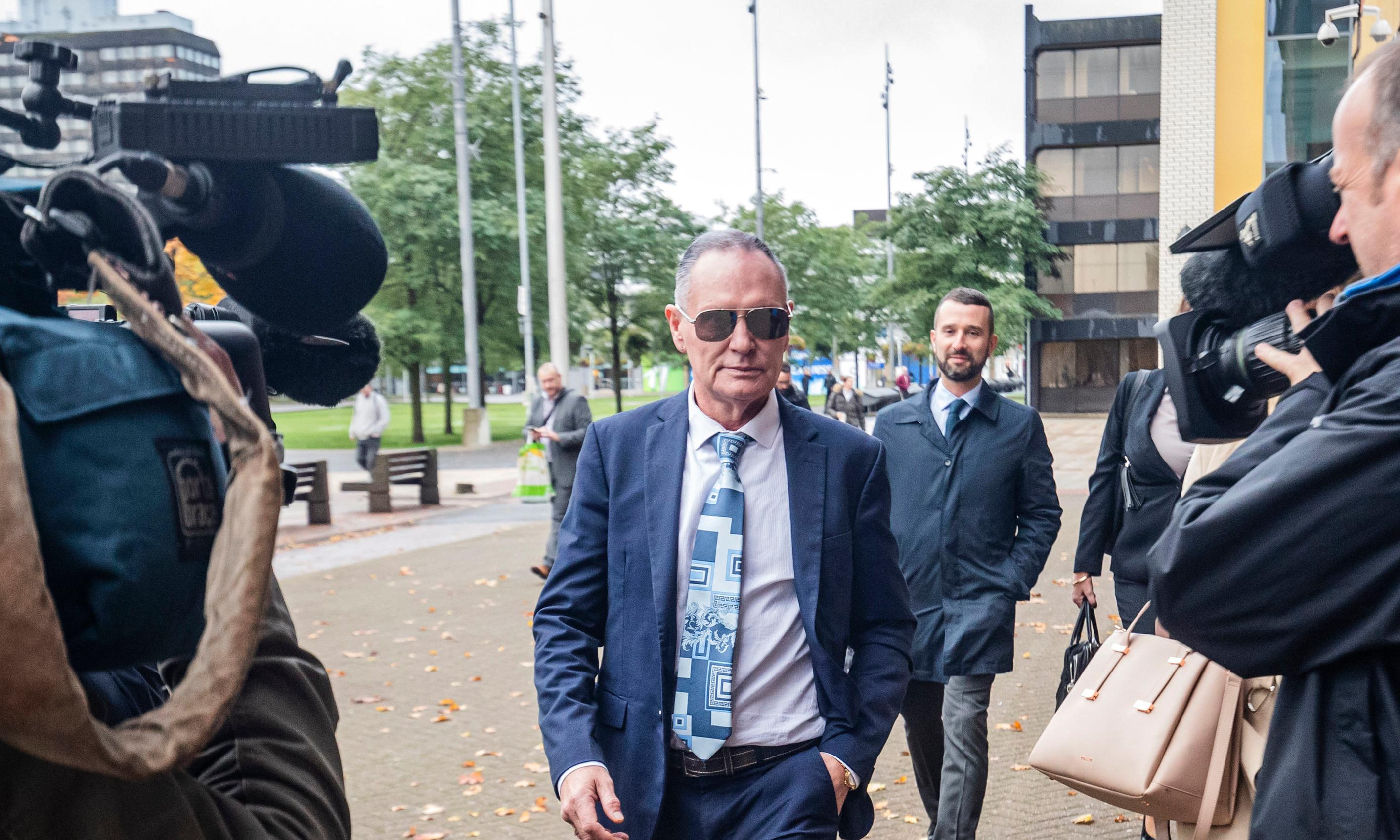 I kissed woman to boost her confidence, Paul Gascoigne tells assault trial