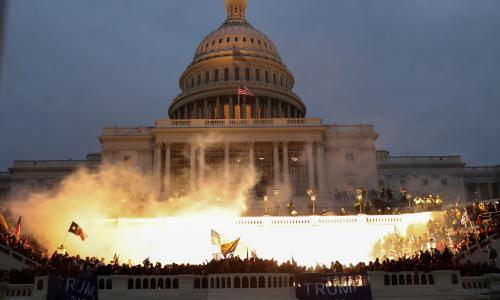 'If it were the UK, police would have opened fire': the explosive film about Trump's Capitol Hill rioters