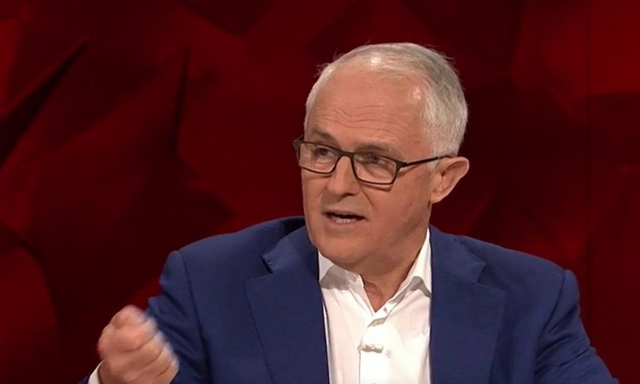'National security issue': Turnbull tells Q&A Morrison must step up response to bushfire crisis
