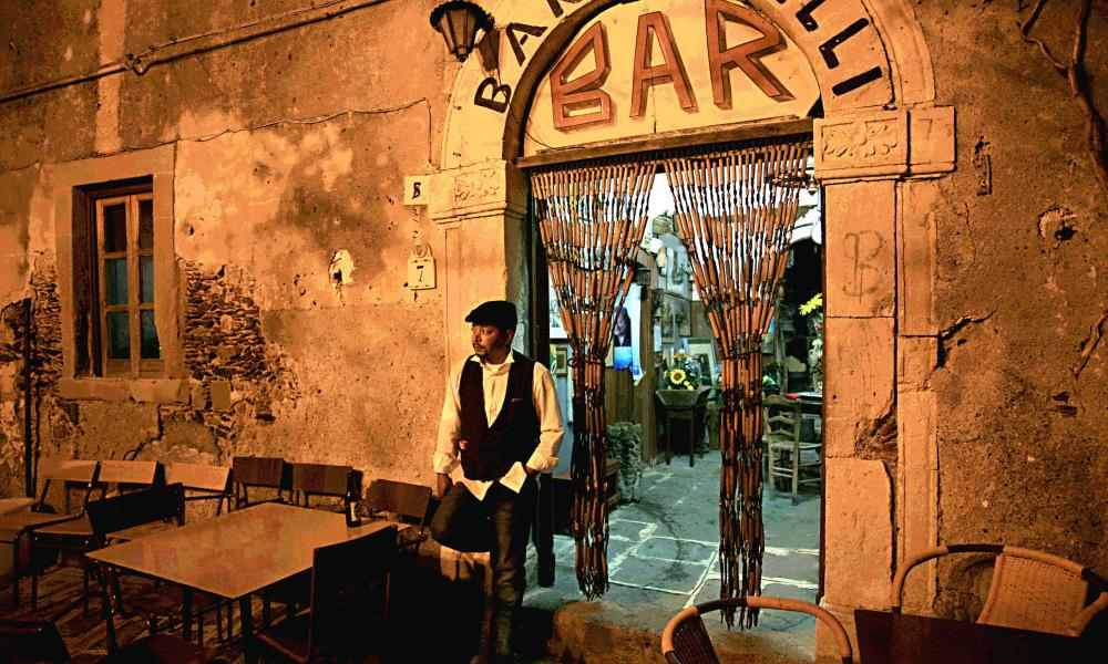 Bar Vitelli, Savoca, a setting in the Godfather