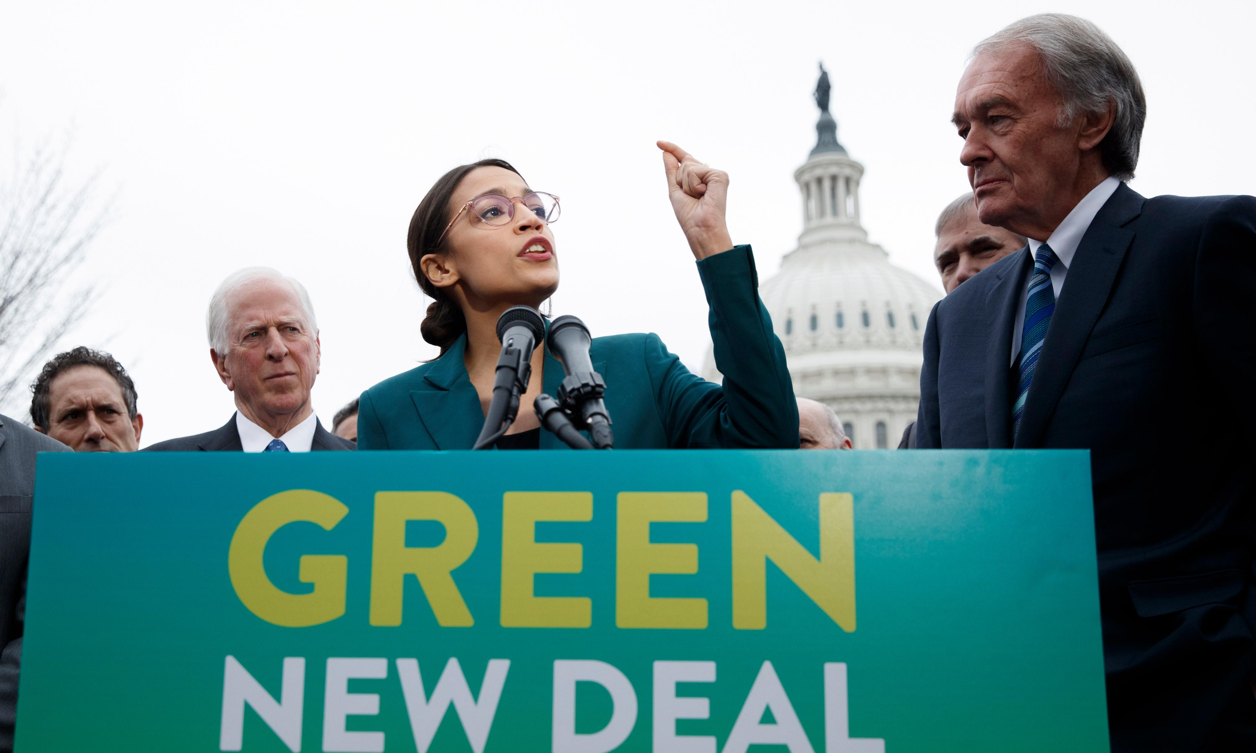 How Republicans have seen red over Ocasio-Cortez's Green New Deal