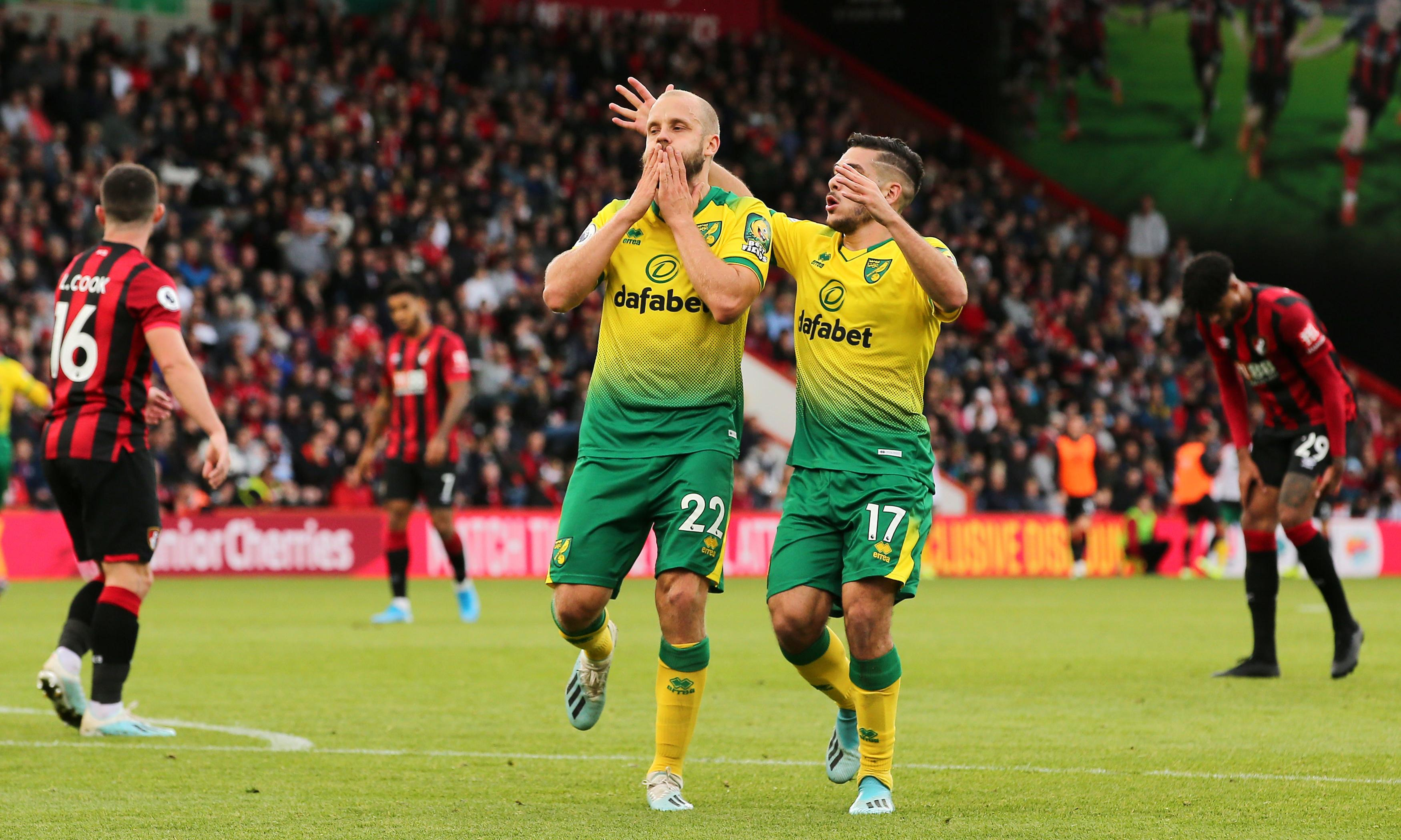 Norwich's Tim Krul denies Solanke and Danjuma to frustrate Bournemouth