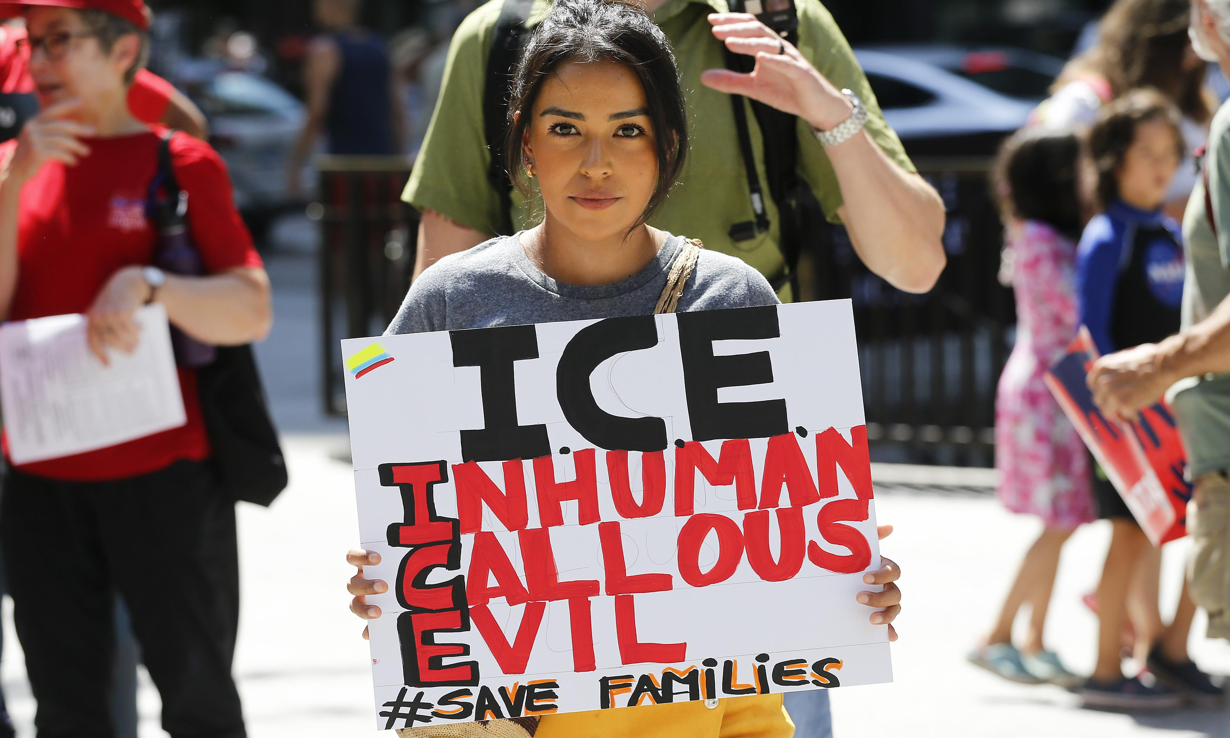 Prospect of immigration raids across US spark anxiety, anger and protests