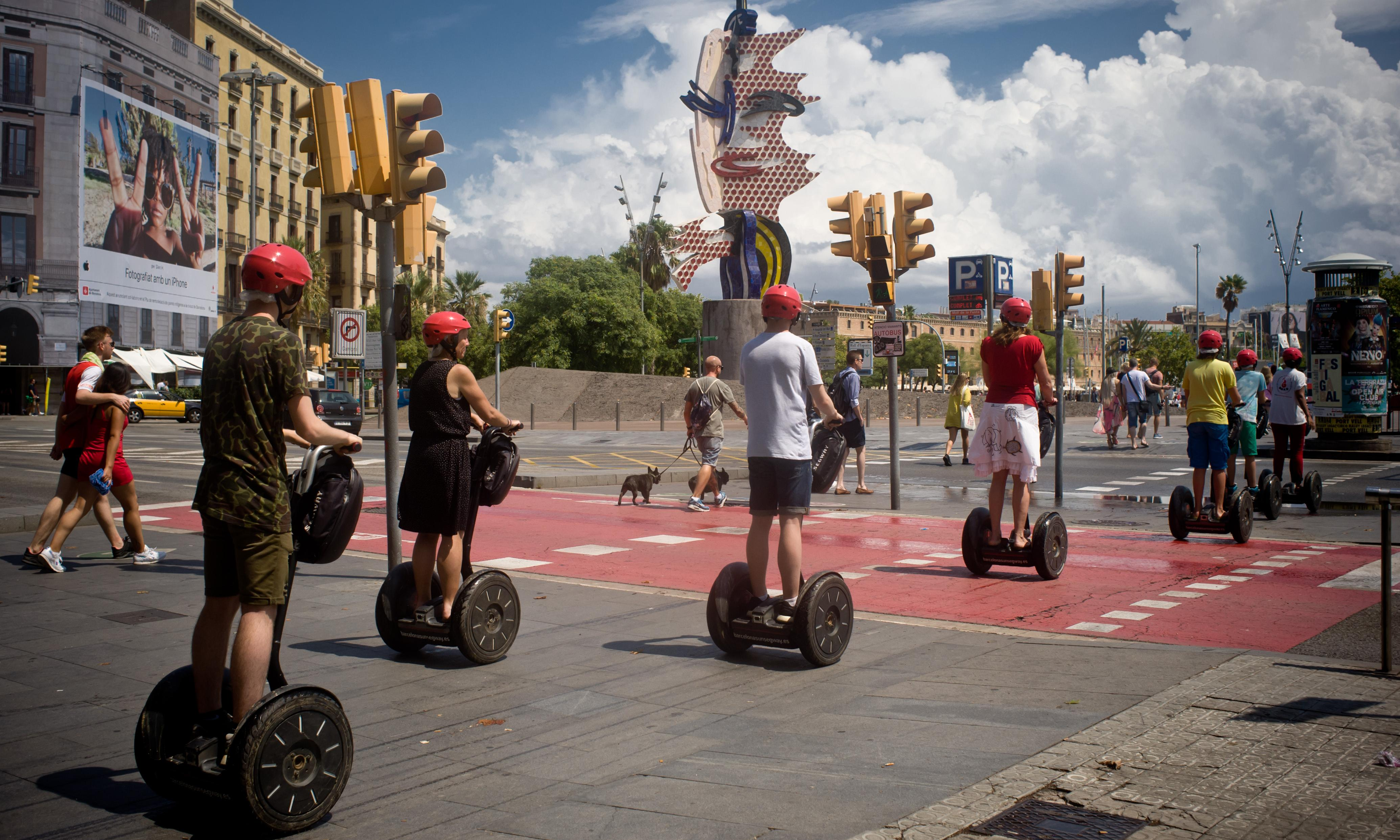 Barcelona adds Segway ban to curbs on tourism