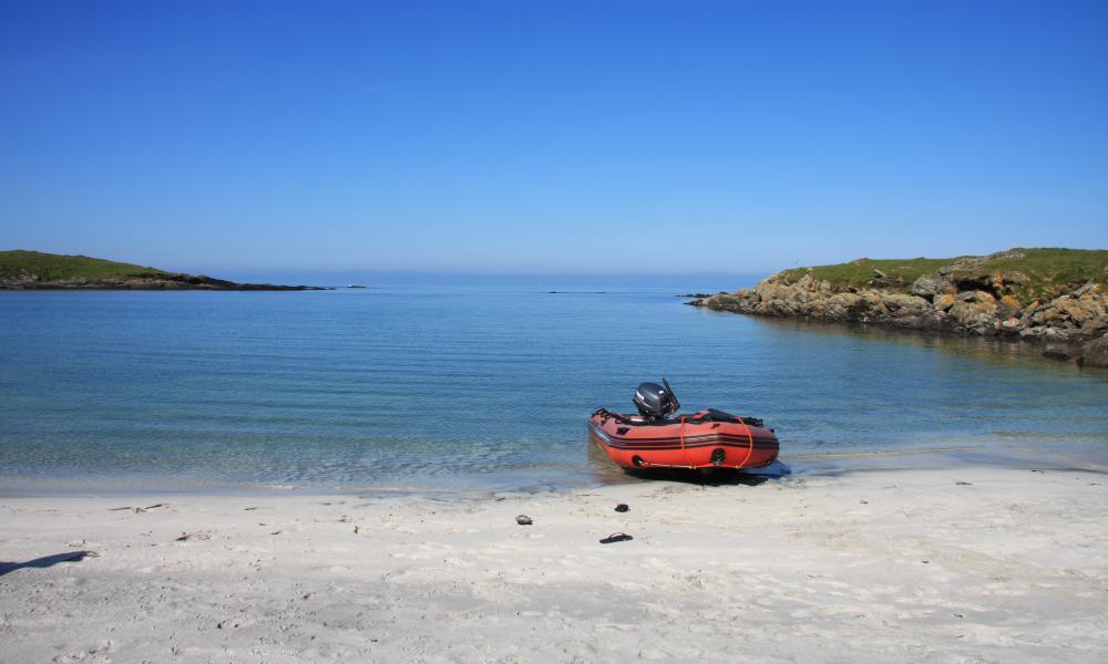 monach isles beach