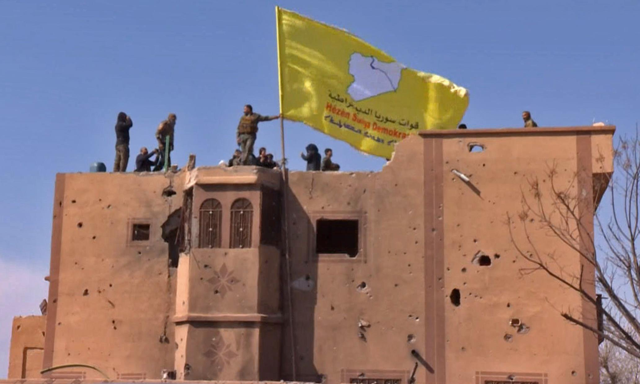 Isis defeated, US-backed Syrian Democratic Forces announce