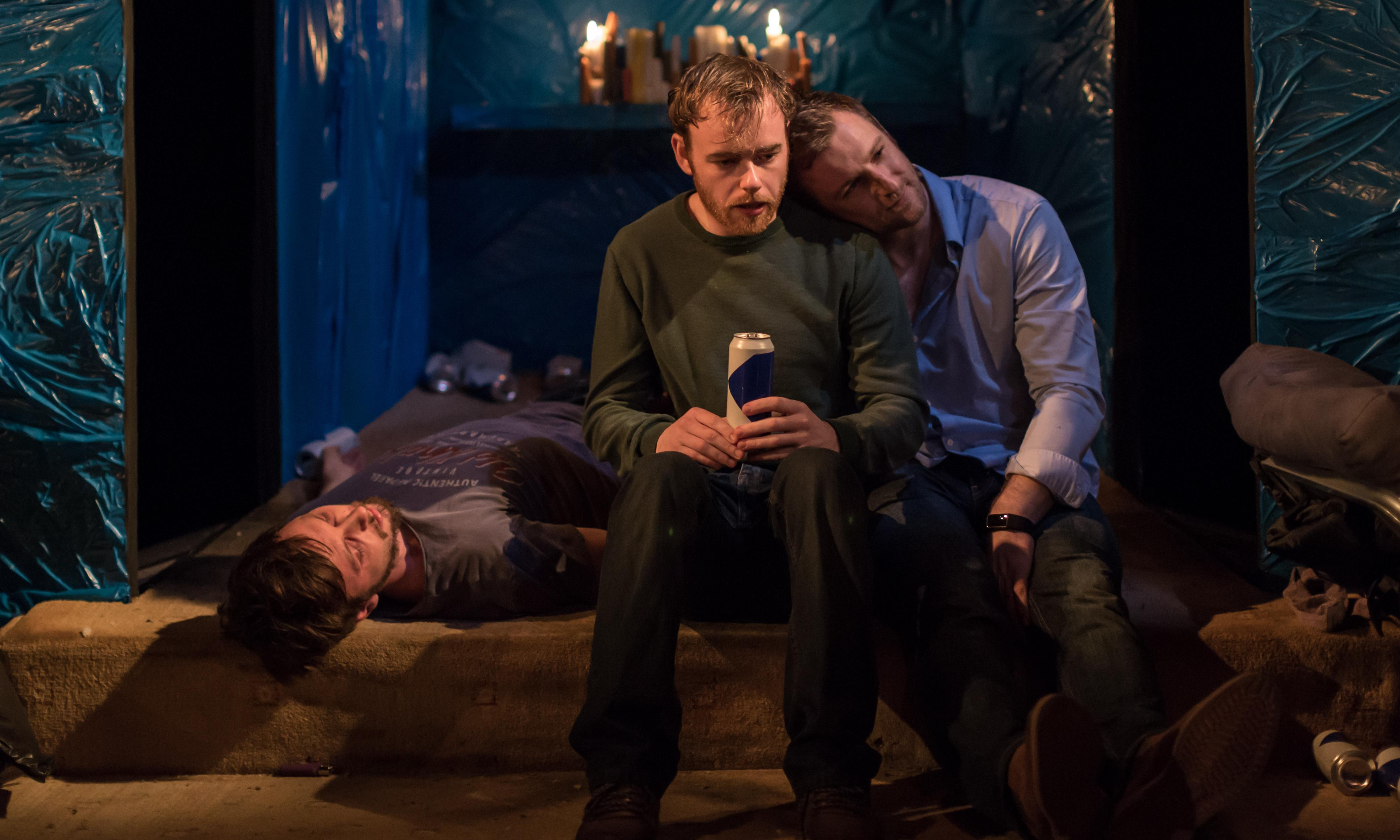 Flights review – lads' drinking game ends in grief and regret