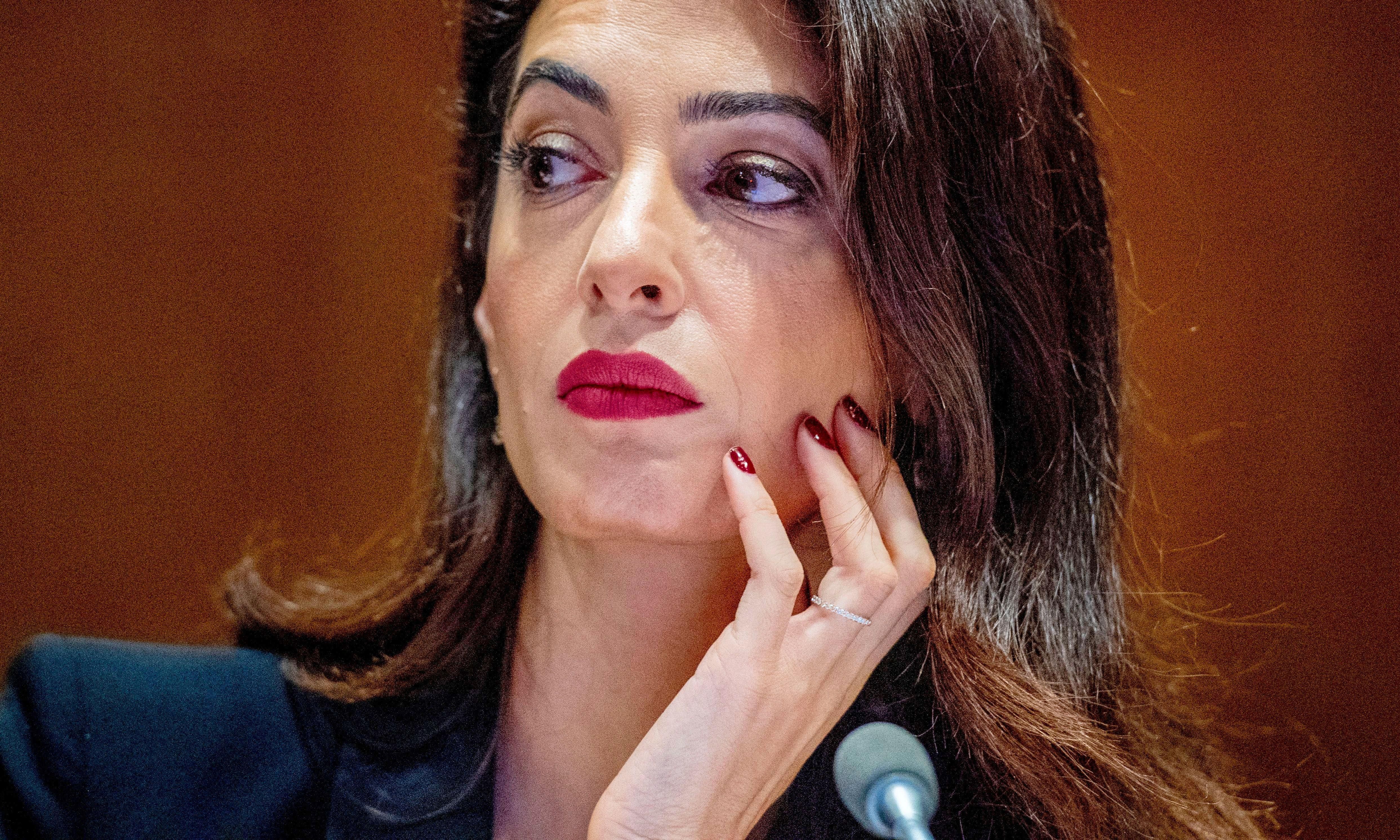 Amal Clooney to pursue Rohingya case at The Hague