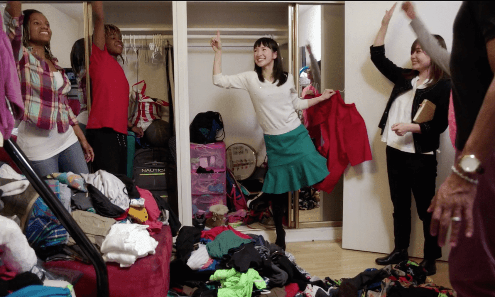 Marie Kondo, you know what would spark joy? Buying less crap