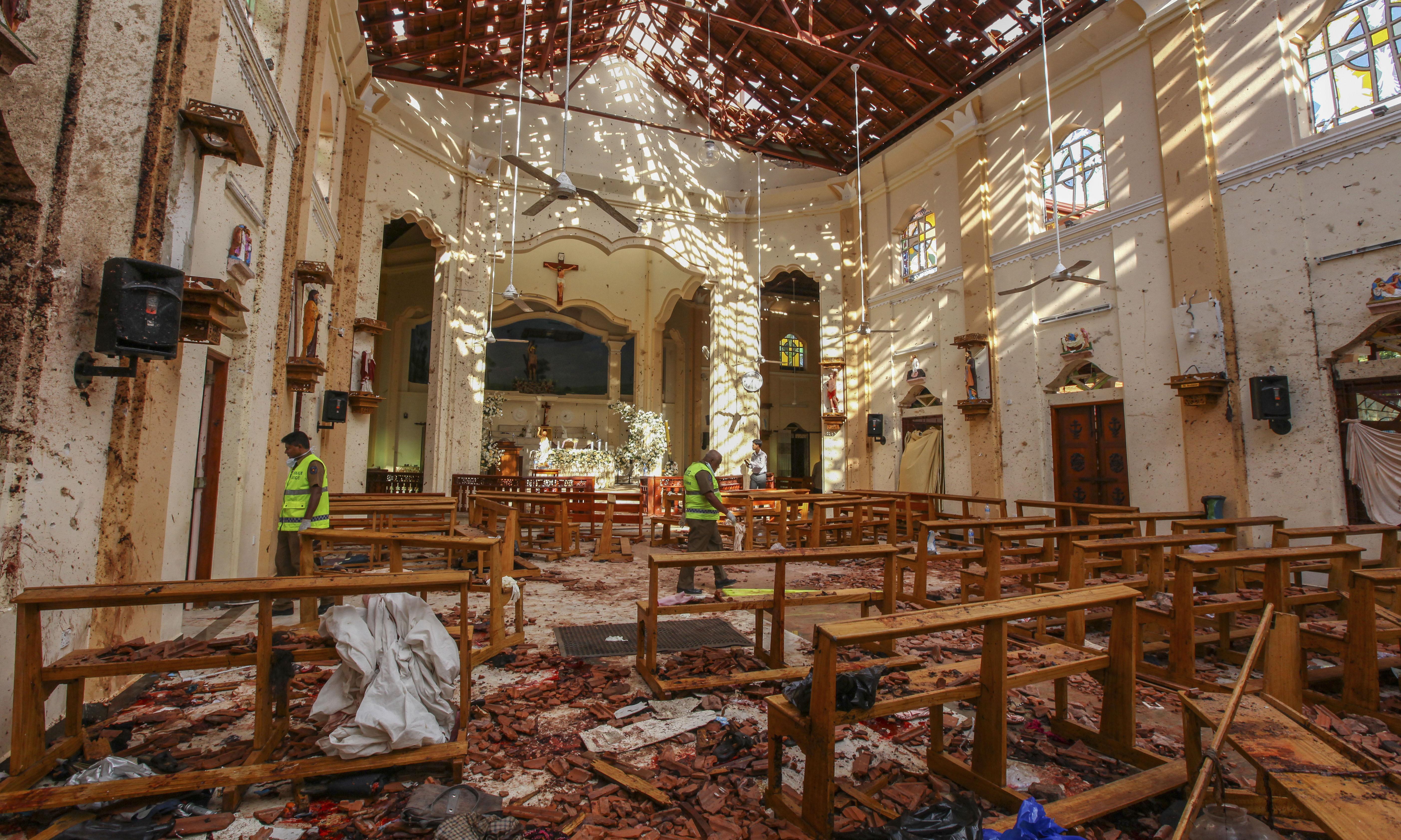 Mike Pompeo says 'several' US citizens killed in Sri Lanka attacks