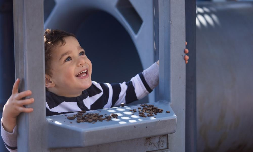Two year old Jacob Yates