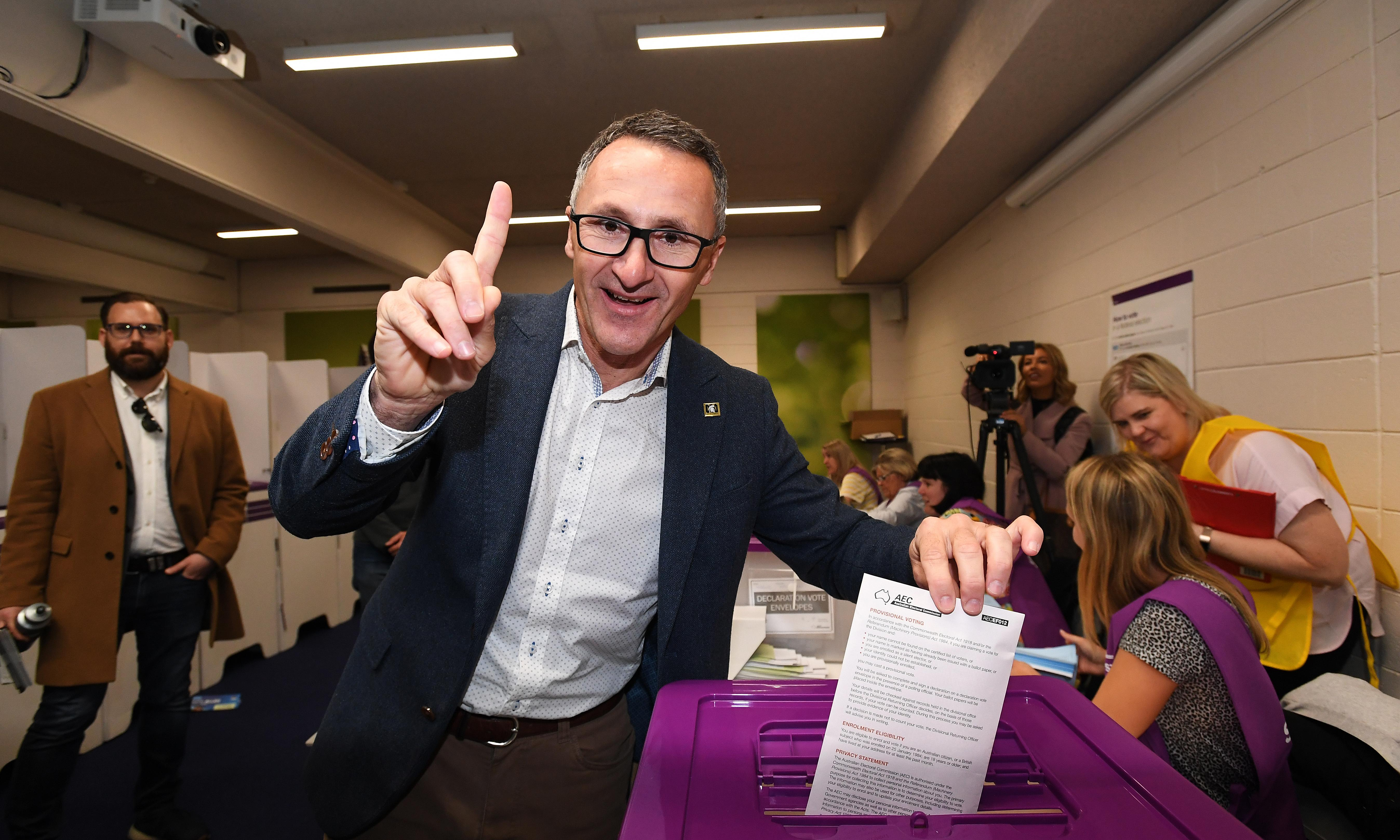 Swing of 2.6% will give the Greens a dominant role on Senate crossbench