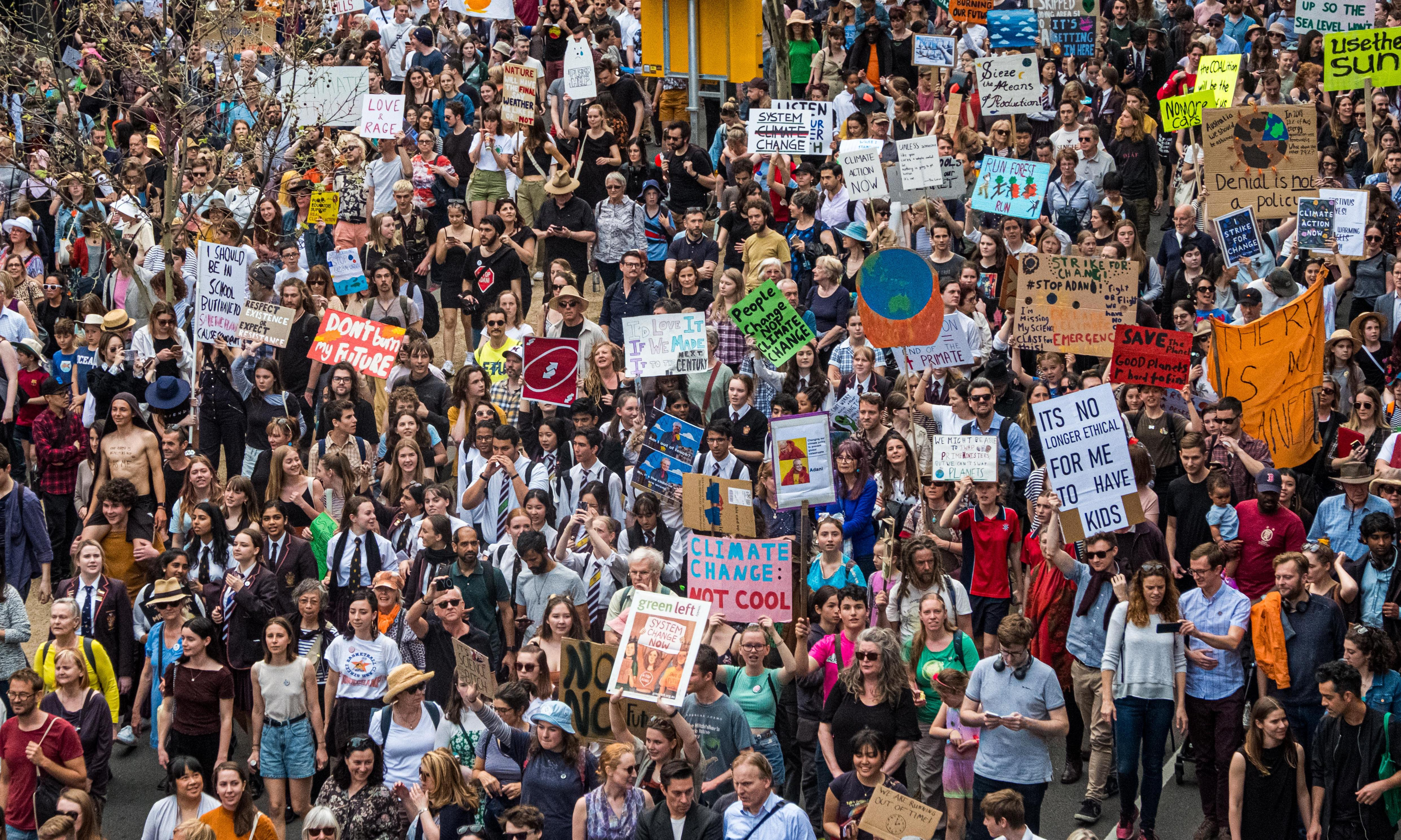 Across the globe, millions join biggest climate protest ever