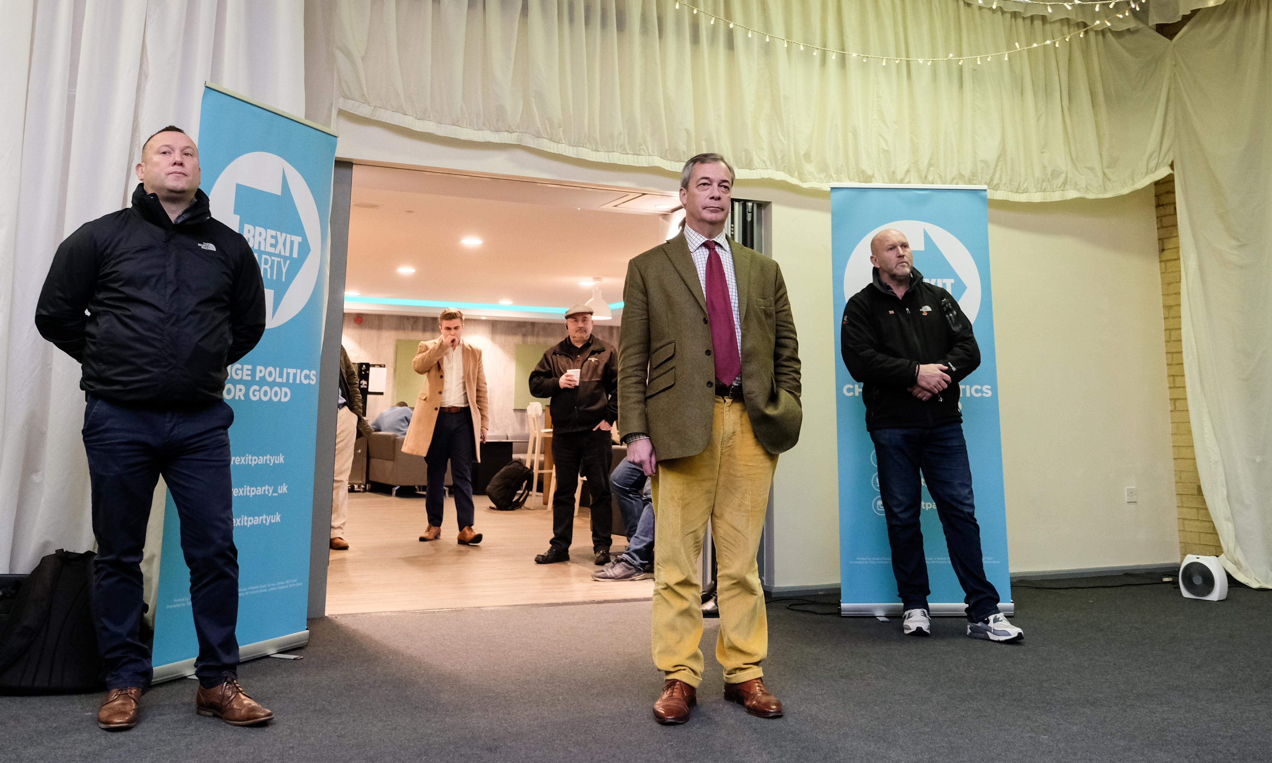 Confusion and tactical errors put Brexit party campaign on life support