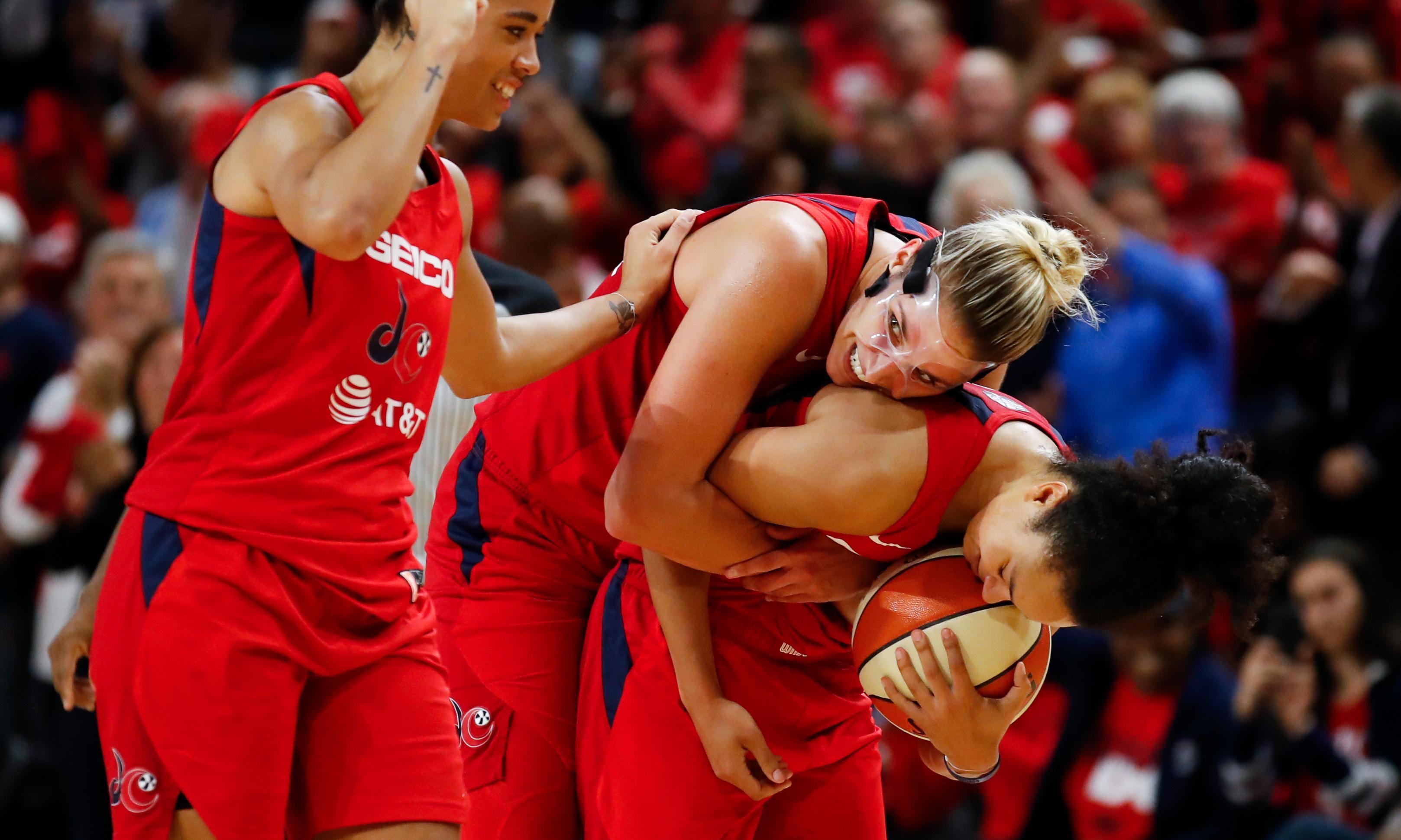 Elena Delle Donne spirits Washington Mystics to first WNBA championship