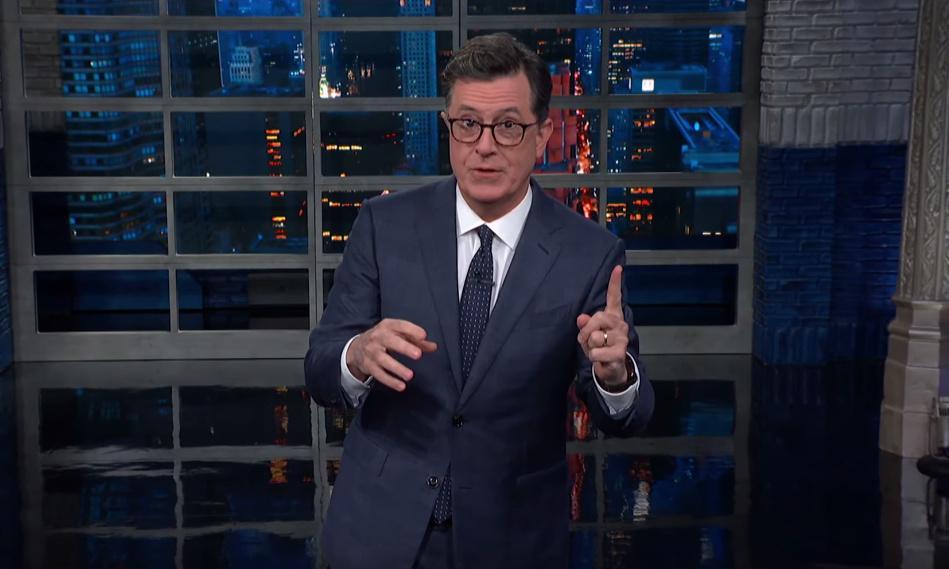 Stephen Colbert on Trump's cancelled Mexican tariffs: 'The Lyin' King'