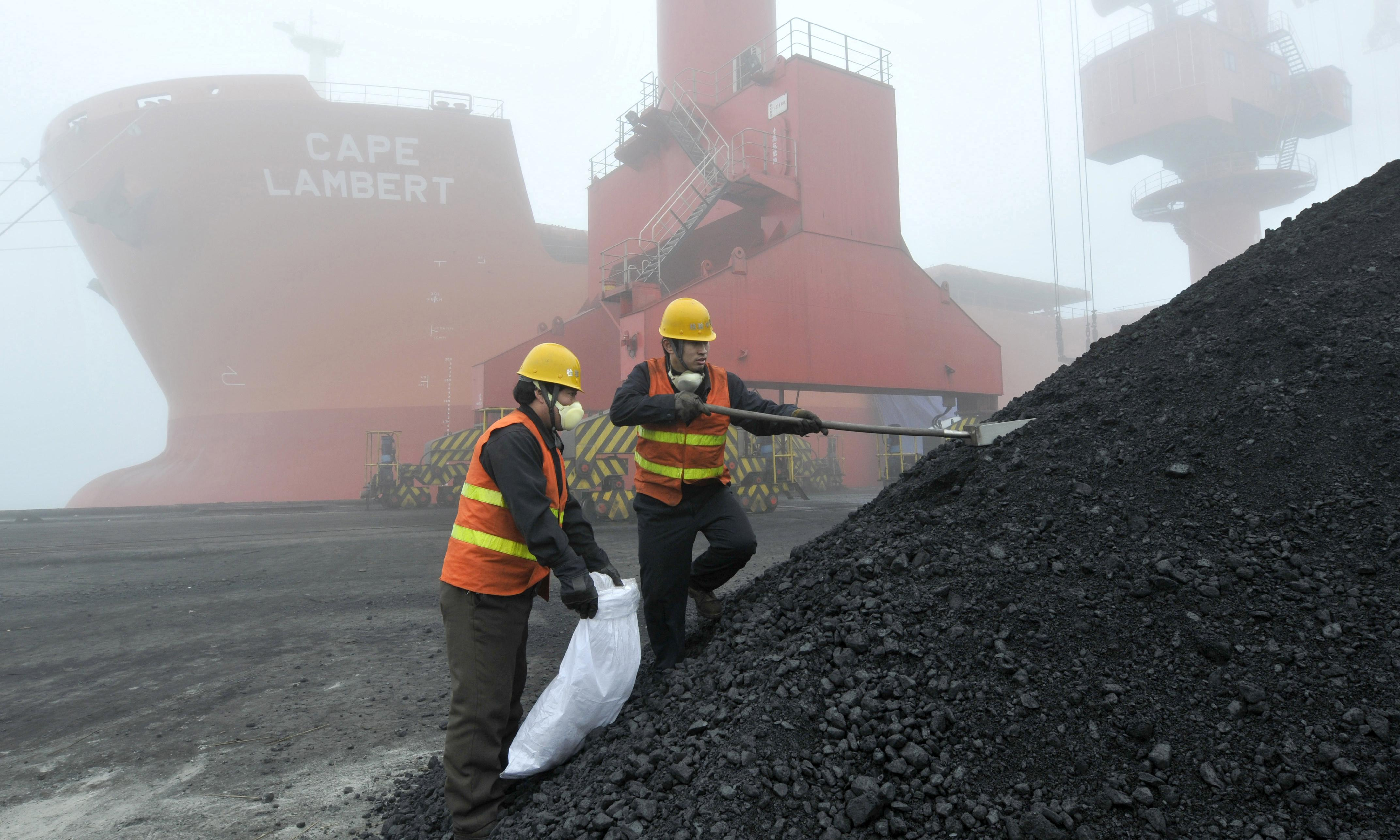 Australia's trade minister raises concerns about China's coal processing delays