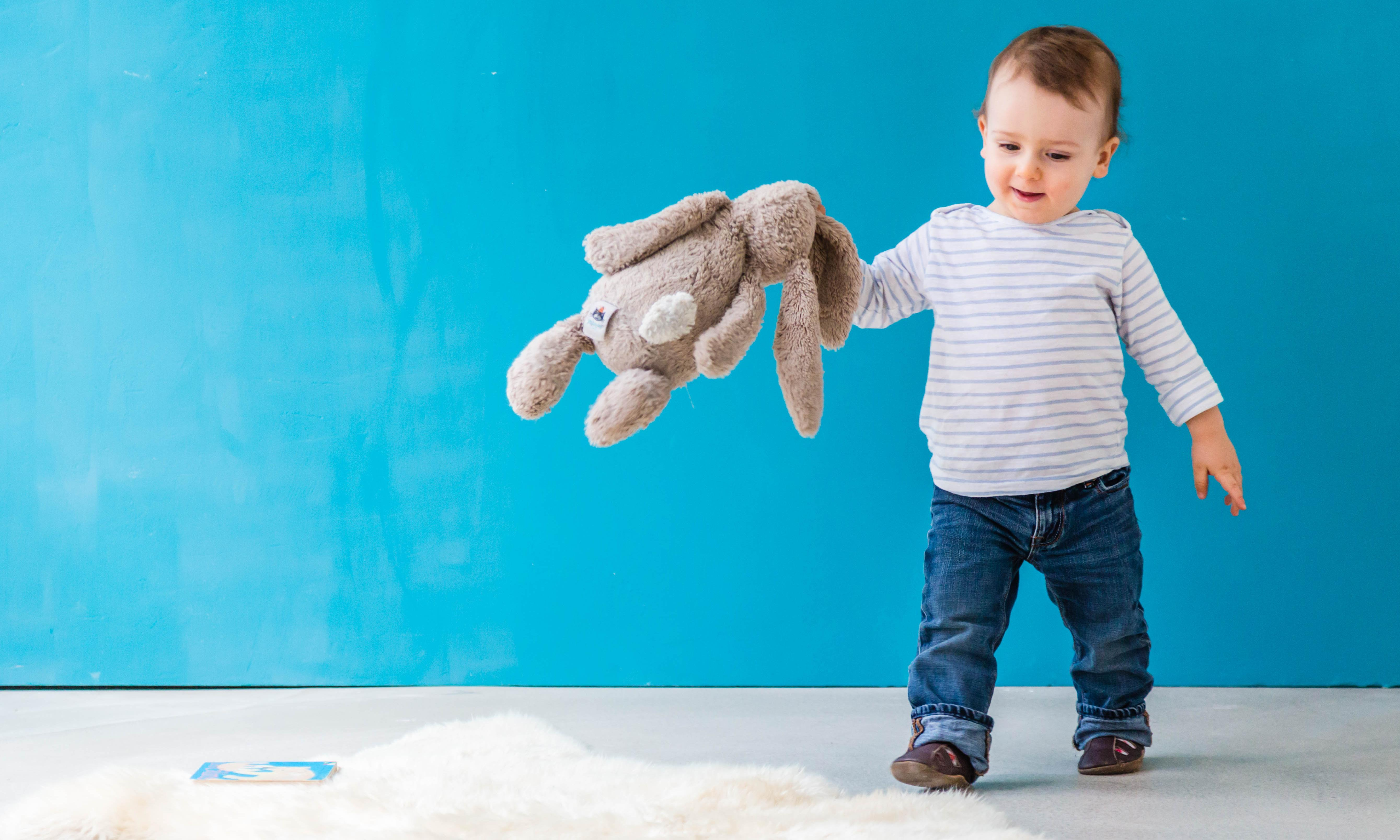 The boy has developed a passion for housework – and is the busiest little butler in Hackney