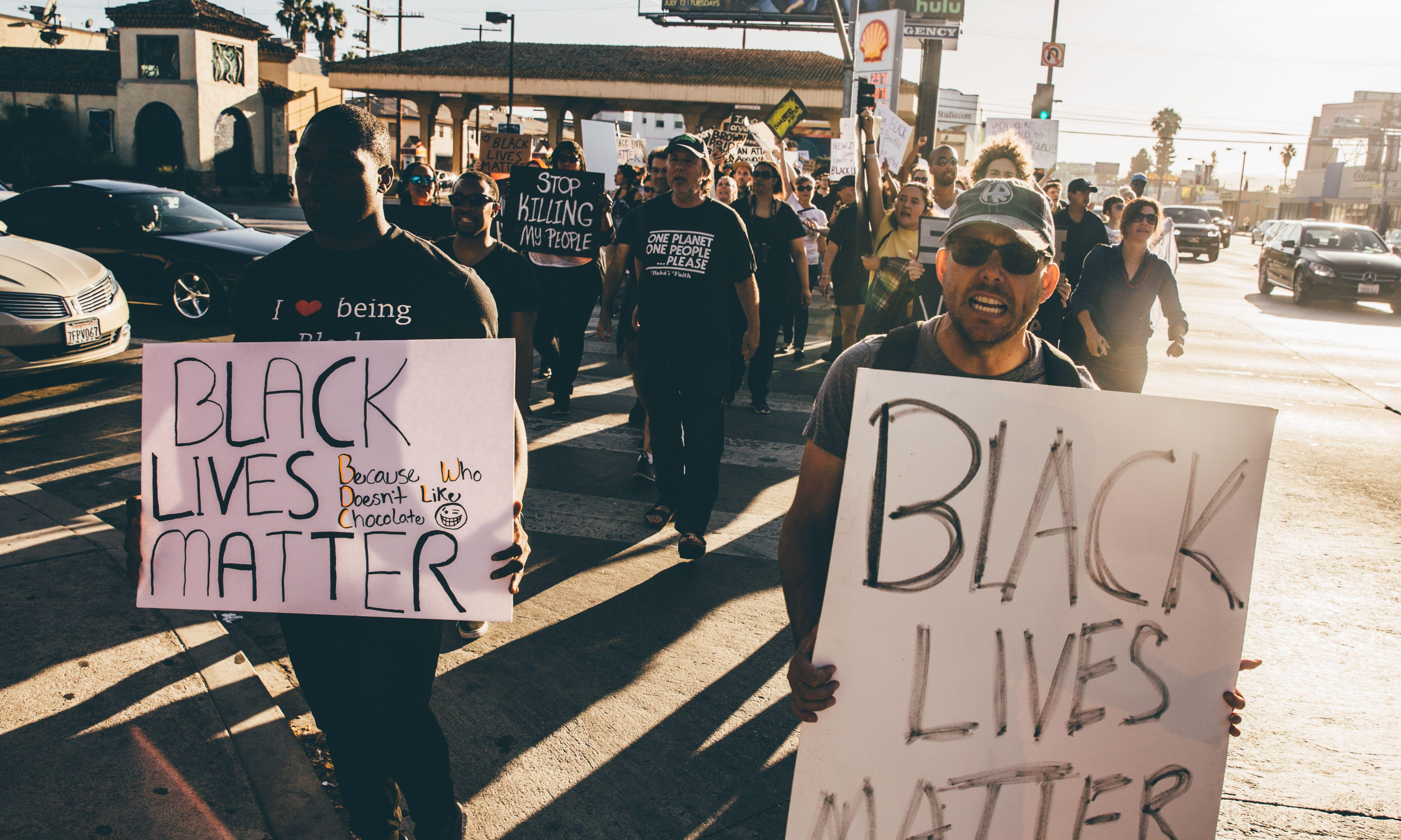 'Good day for a chokehold': the police endorsing racism and violence on Facebook
