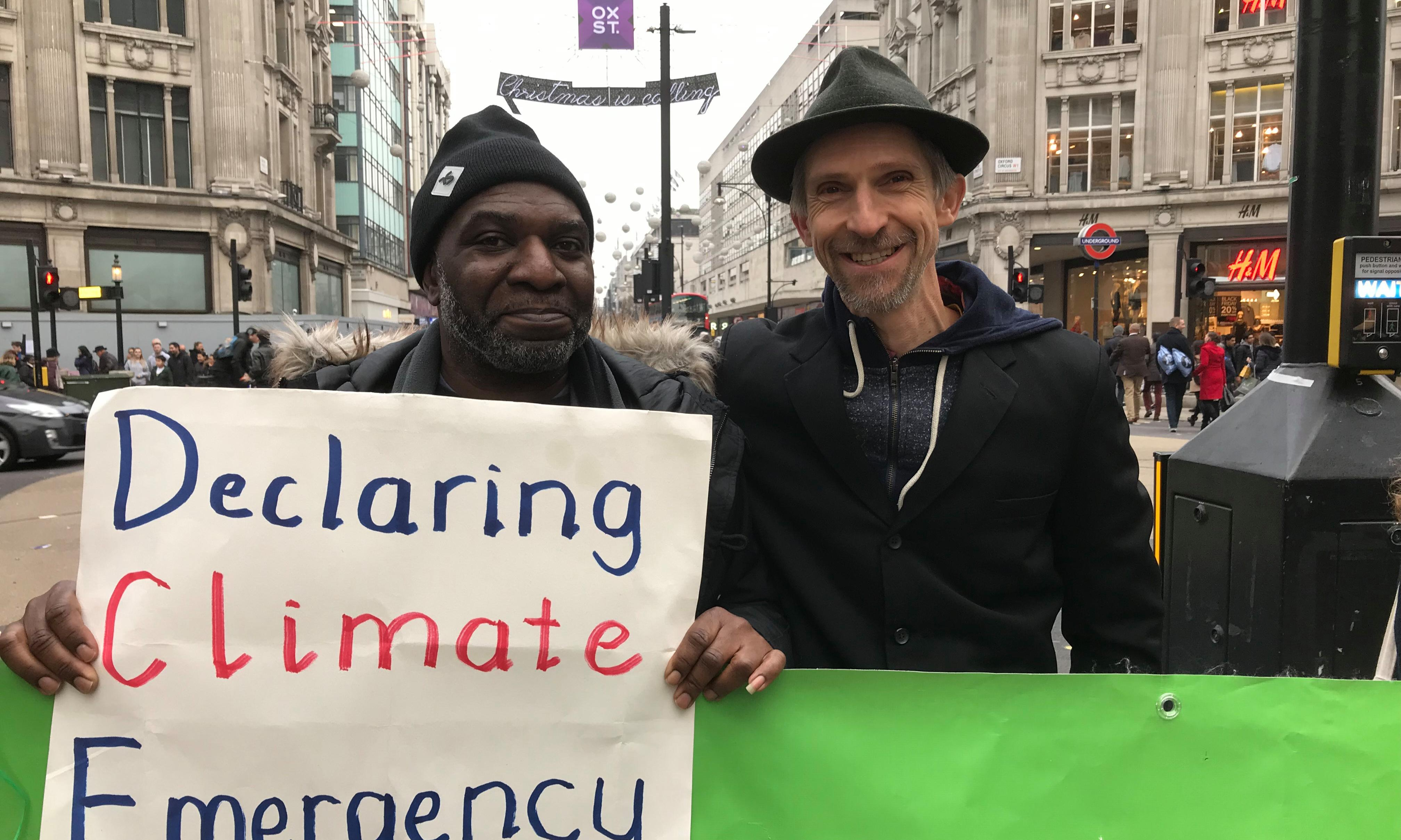 'I've waited 25 years for a movement like Extinction Rebellion'
