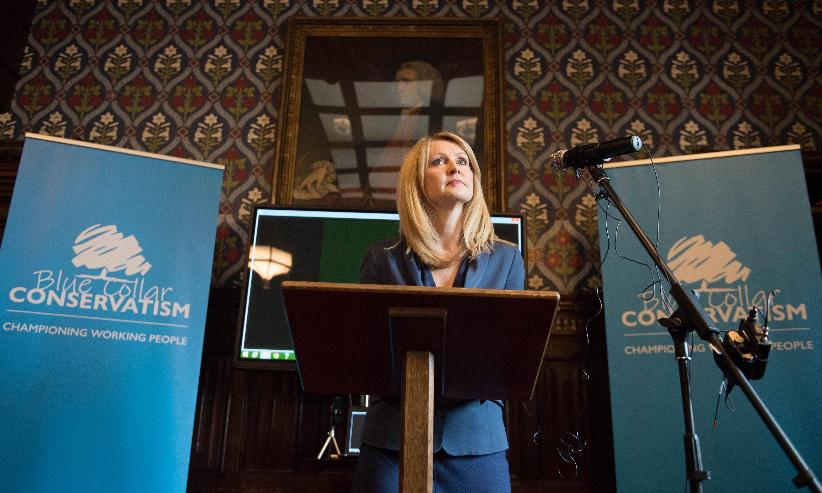 'Blue Collar Conservatism': Esther McVey launches Tory leadership bid