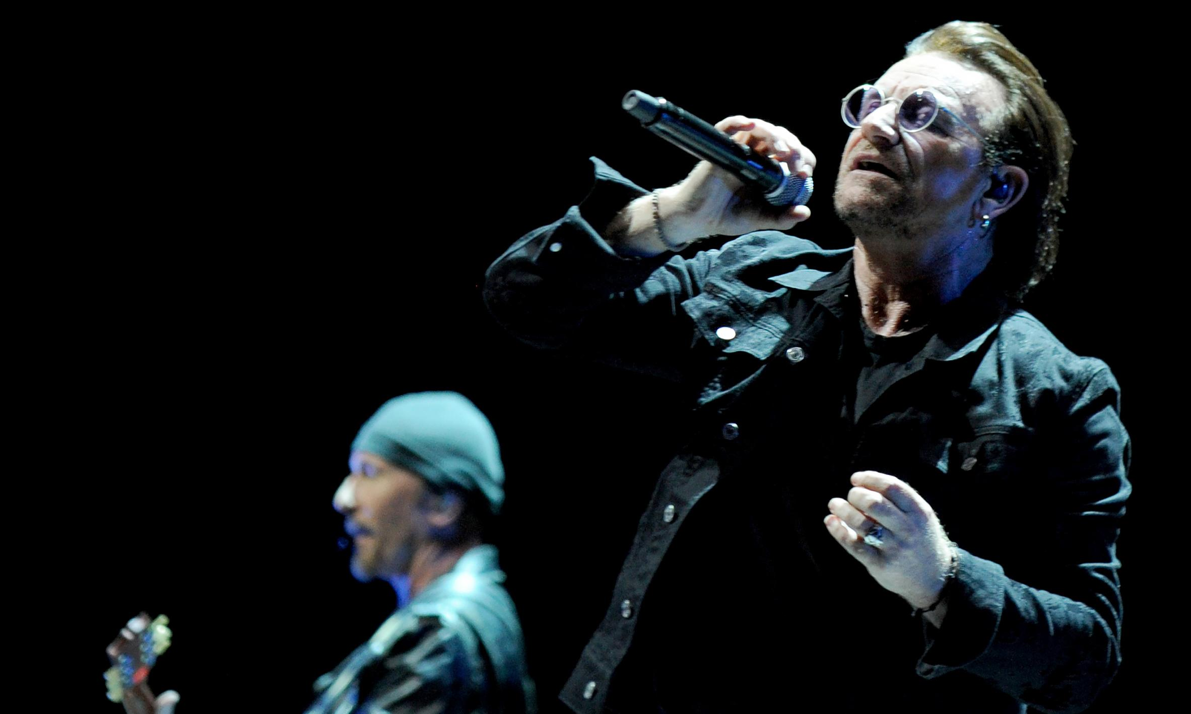U2 review – eye-popping show finds rock icons at their most human