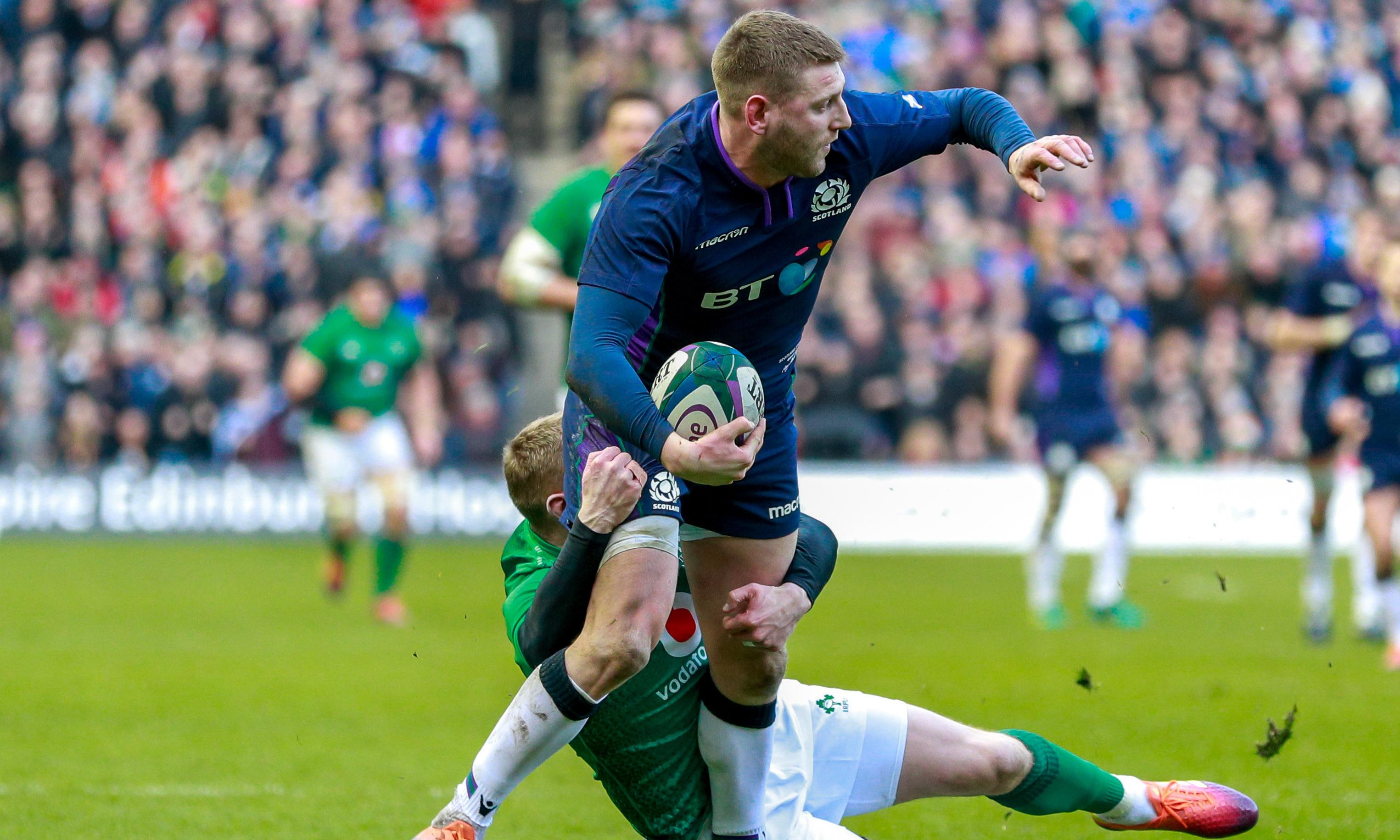 Scotland are hopeful Finn Russell will be fit to face France in Paris