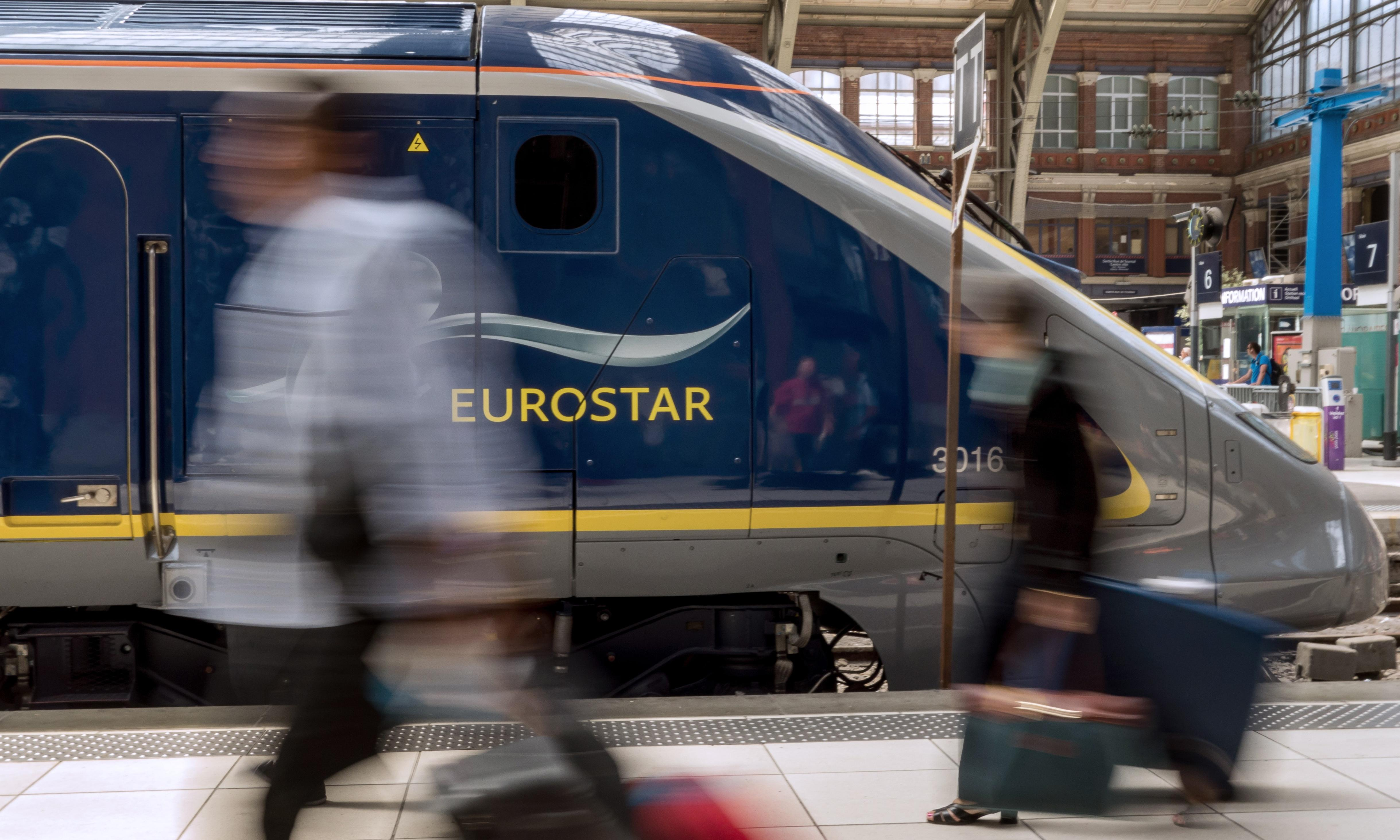 Eurostar told us a train was cancelled when it was just late