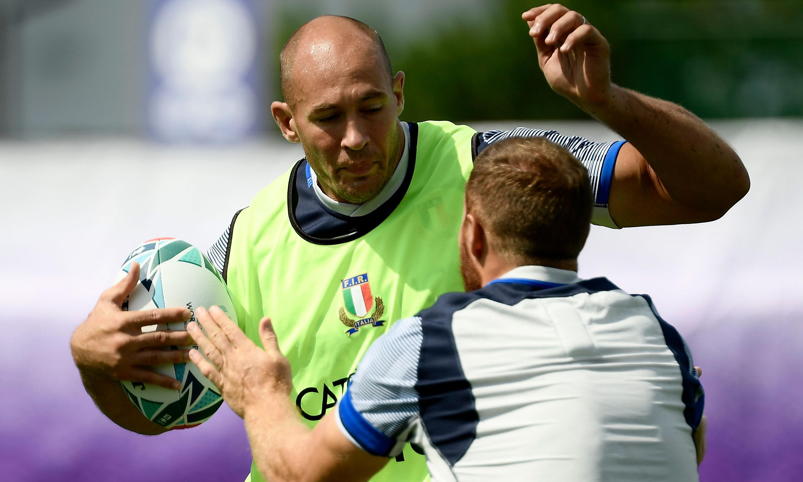 Italy's Sergio Parisse set for record-equalling fifth Rugby World Cup