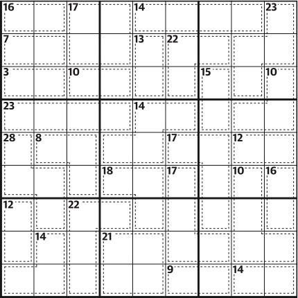 Killer sudoku 646