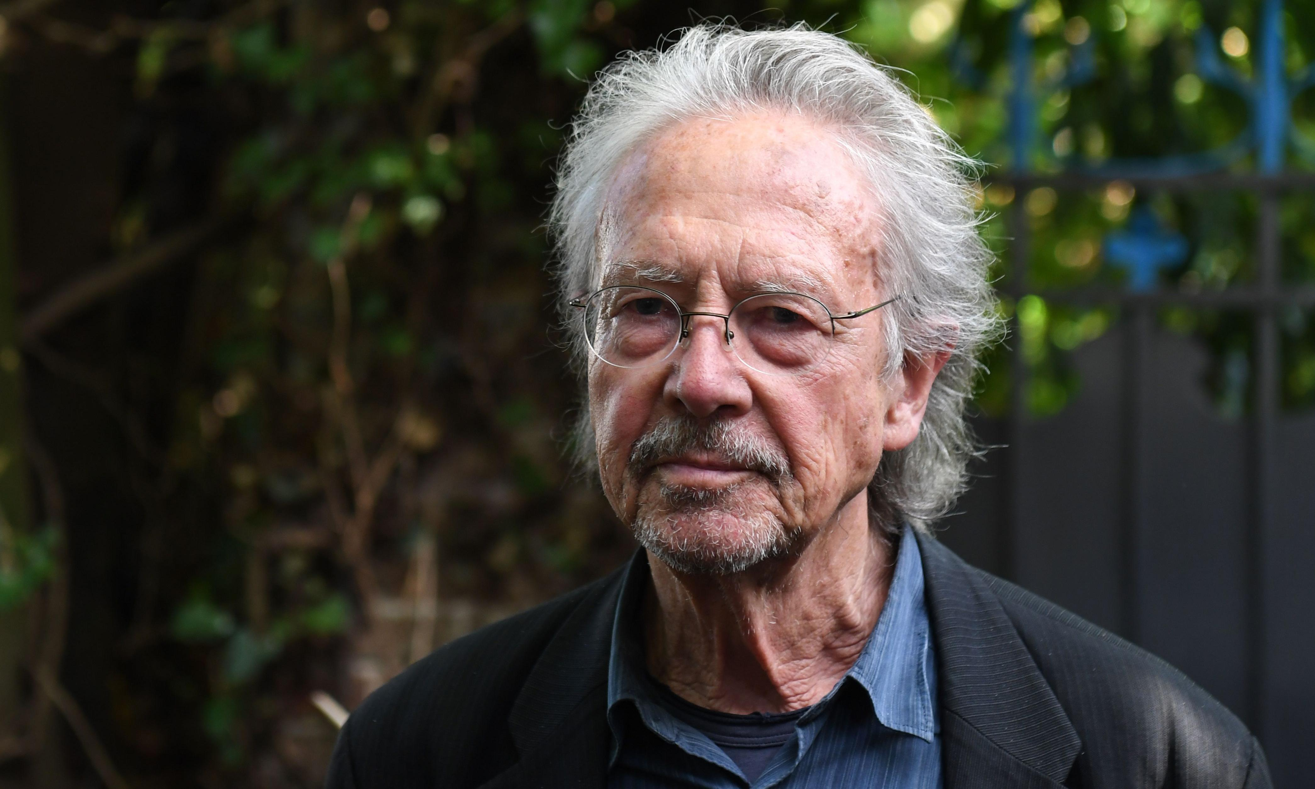 Peter Handke hits out at criticism of Nobel win