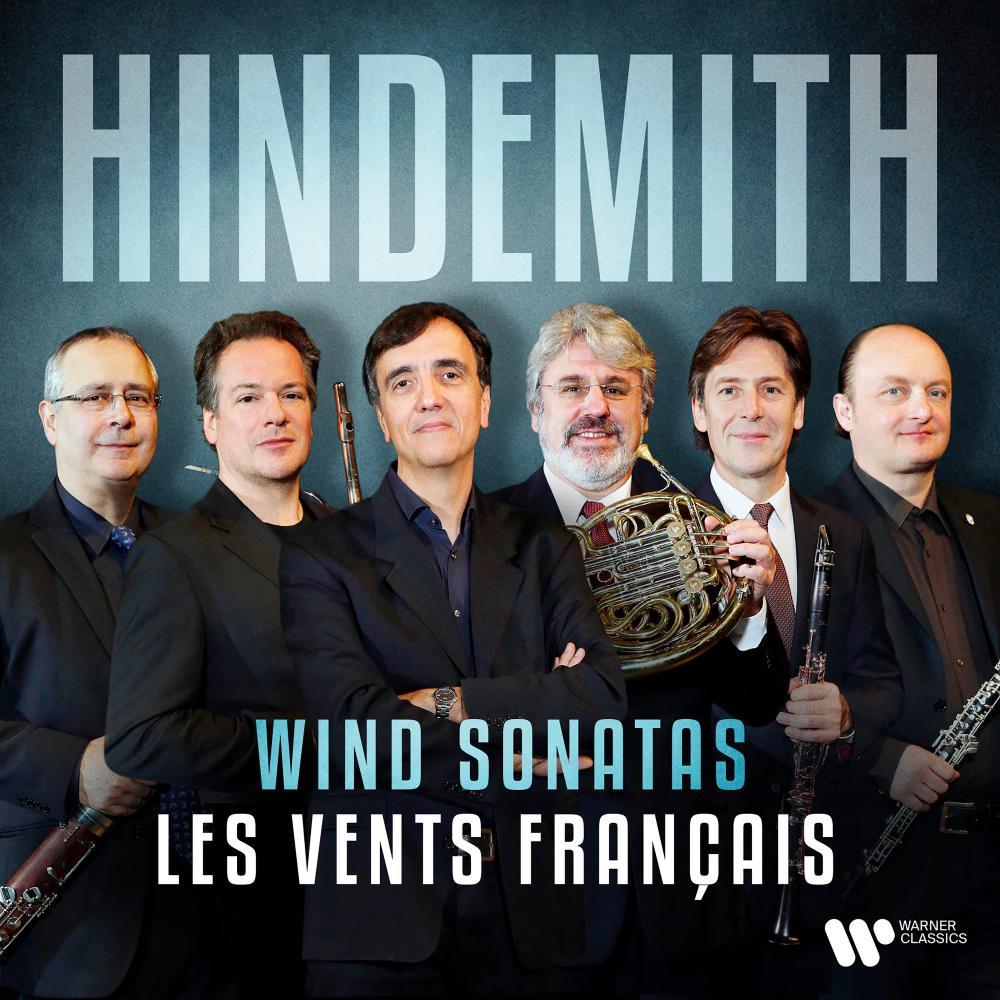Hindemith: Wind Sonatas album cover.
