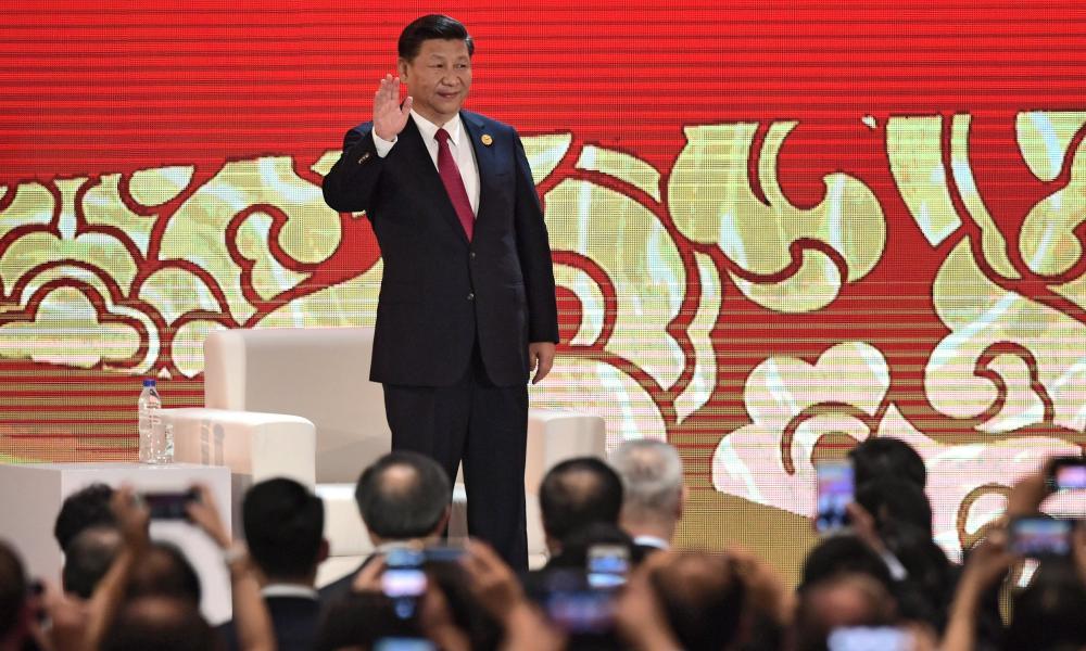 China's president, Xi Jinping, at the Apec summit in Da Nang, Vietnam.